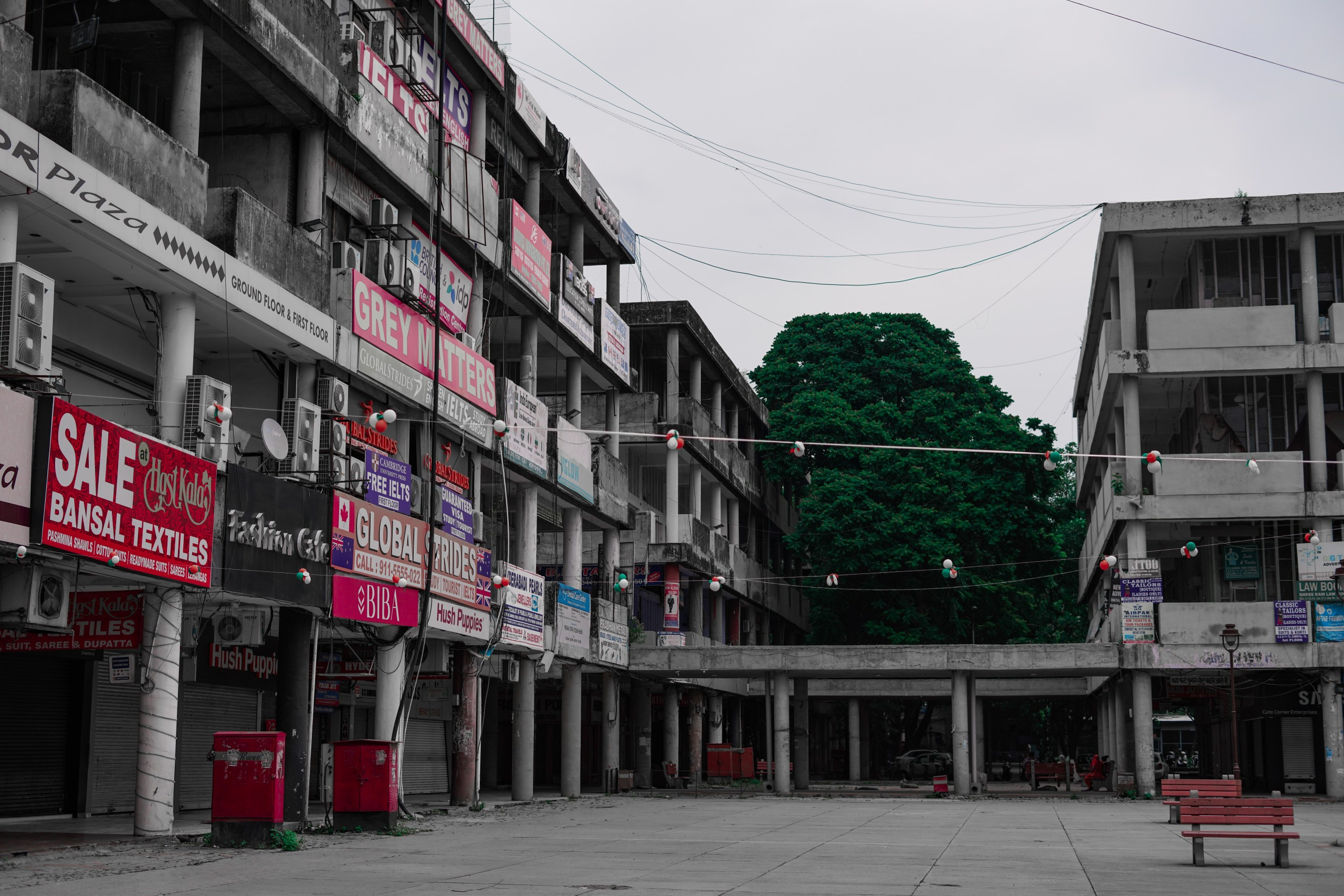 A Closed City Complex