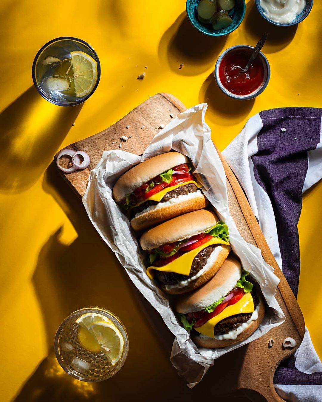 Delicious Vegetarian Burger
