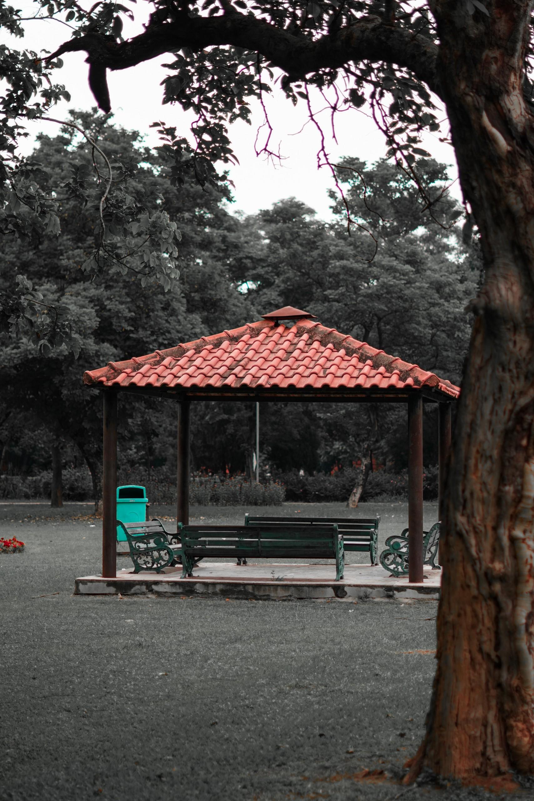 A Hut in Chandigarh Garden