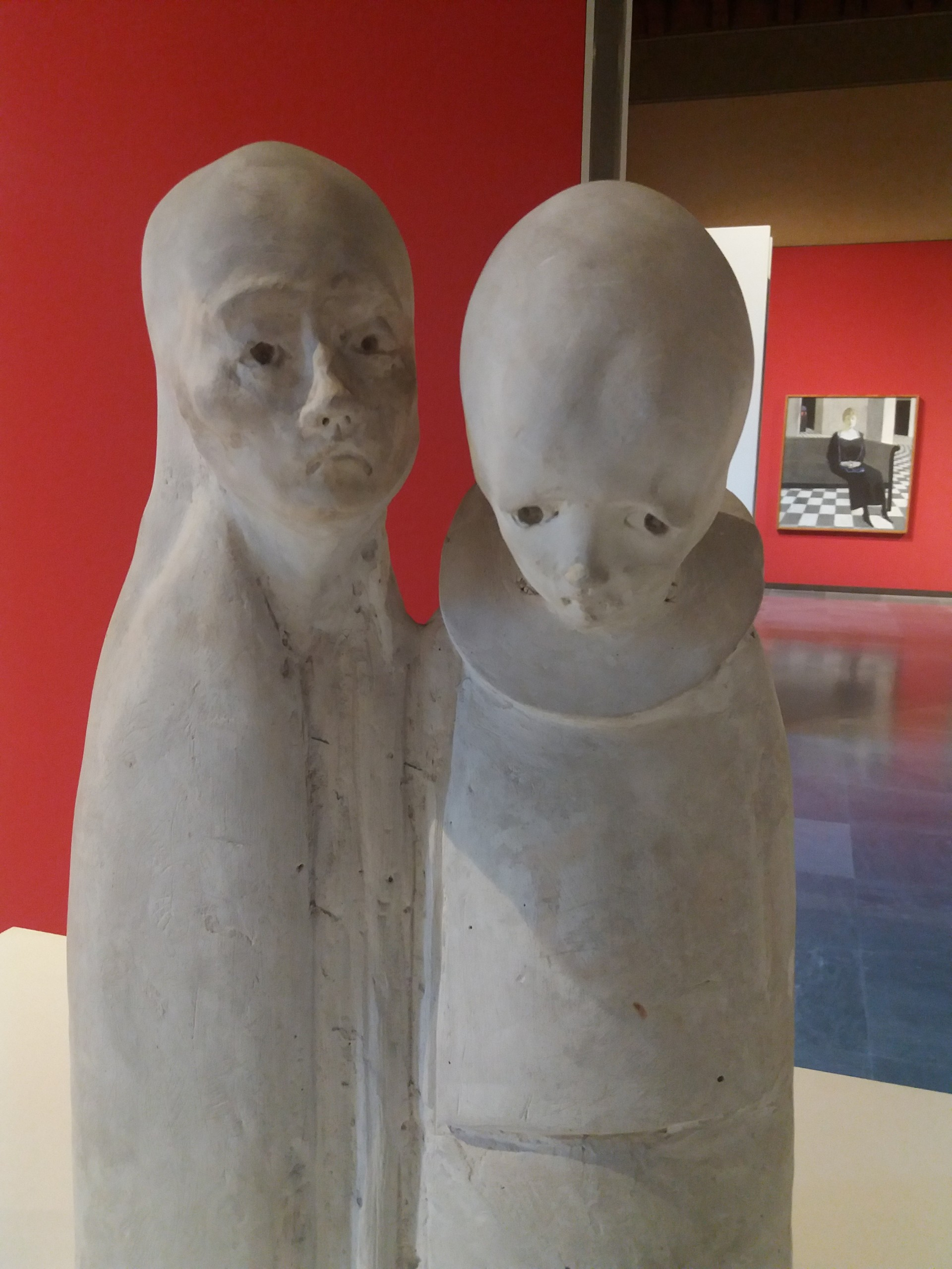 A Pair of Stone Statue