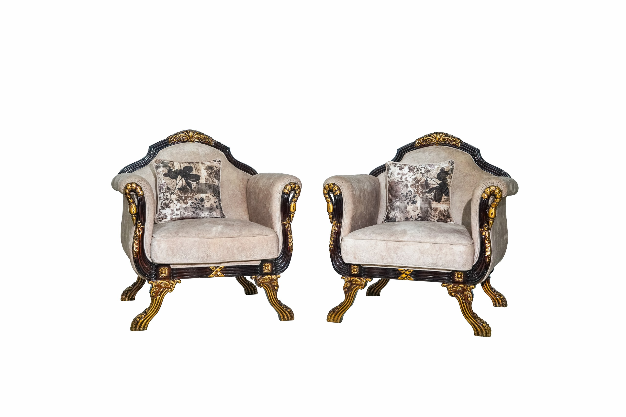 A Pair of Two Luxury Chairs