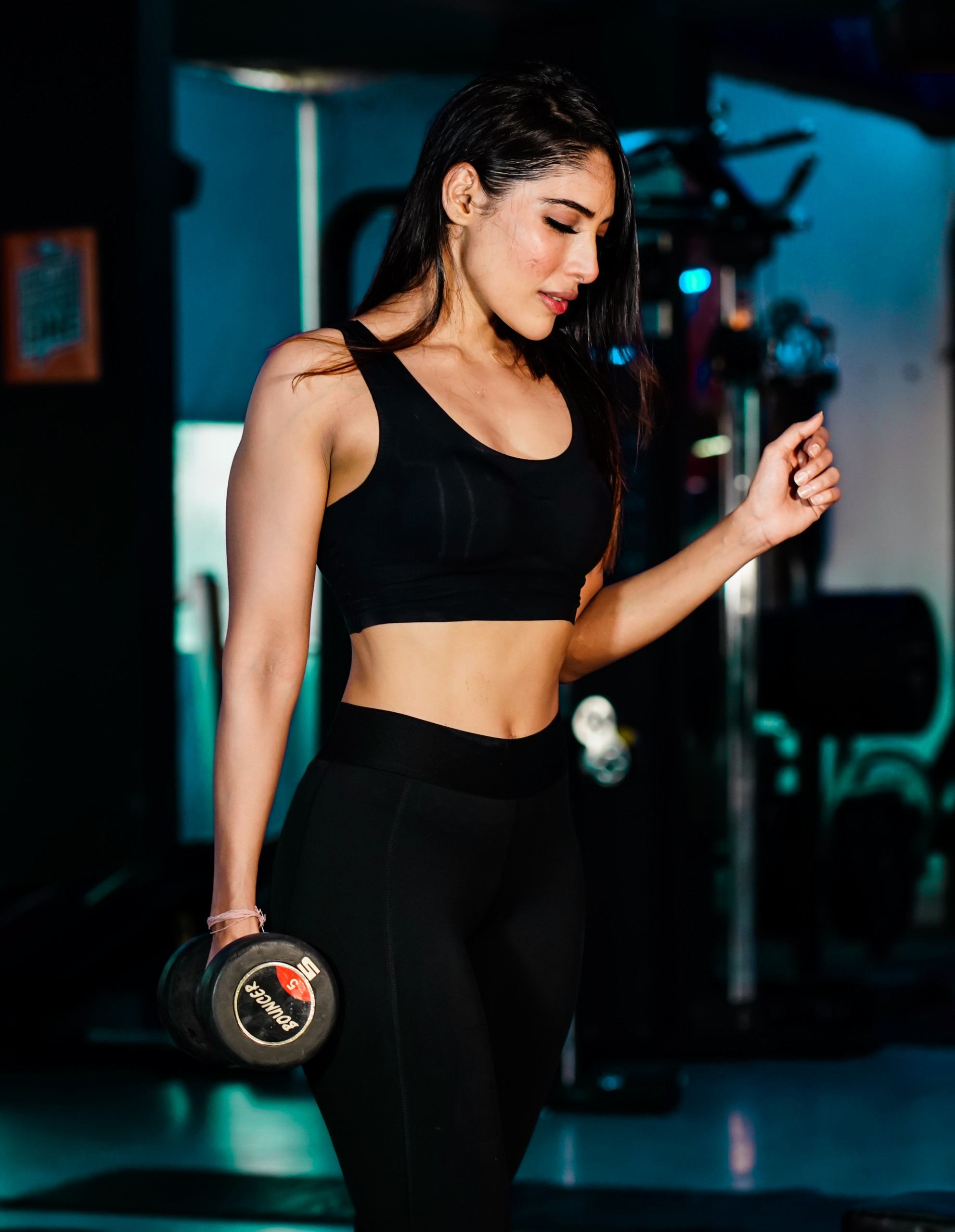 Fitness conscious girl