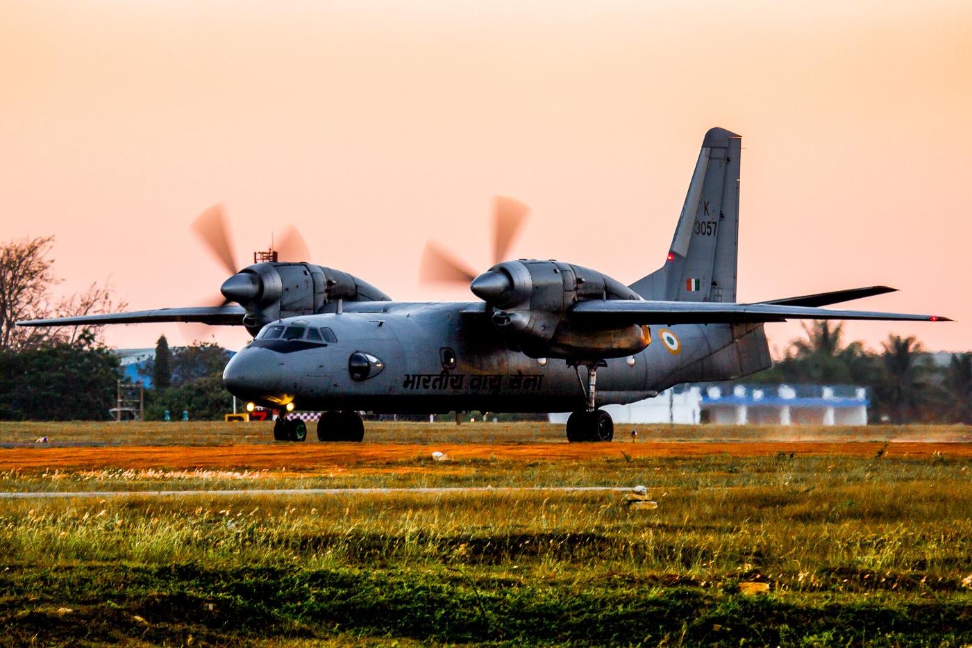 AN 32 Indian Air Force transport aircraft