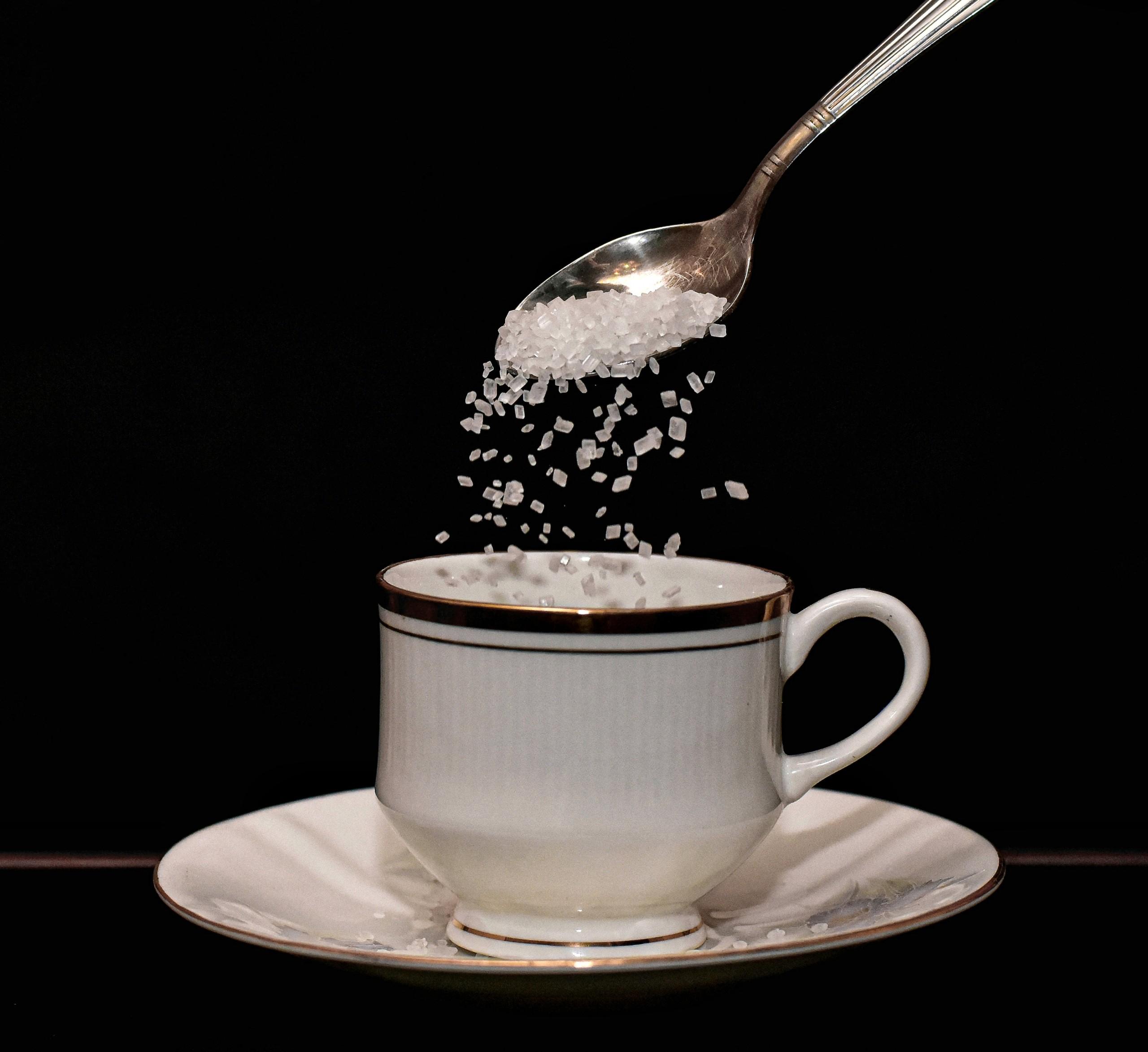 Adding Sugar to Coffee
