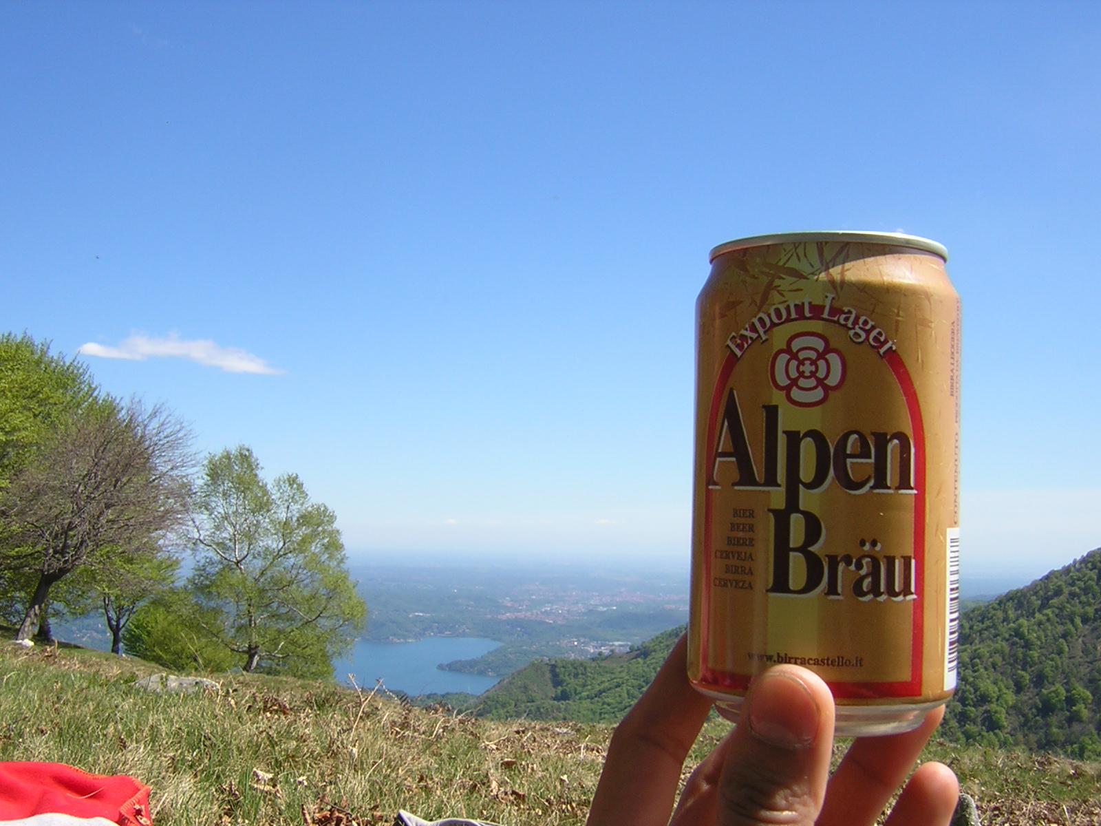 Alpen Brau in the Mountains