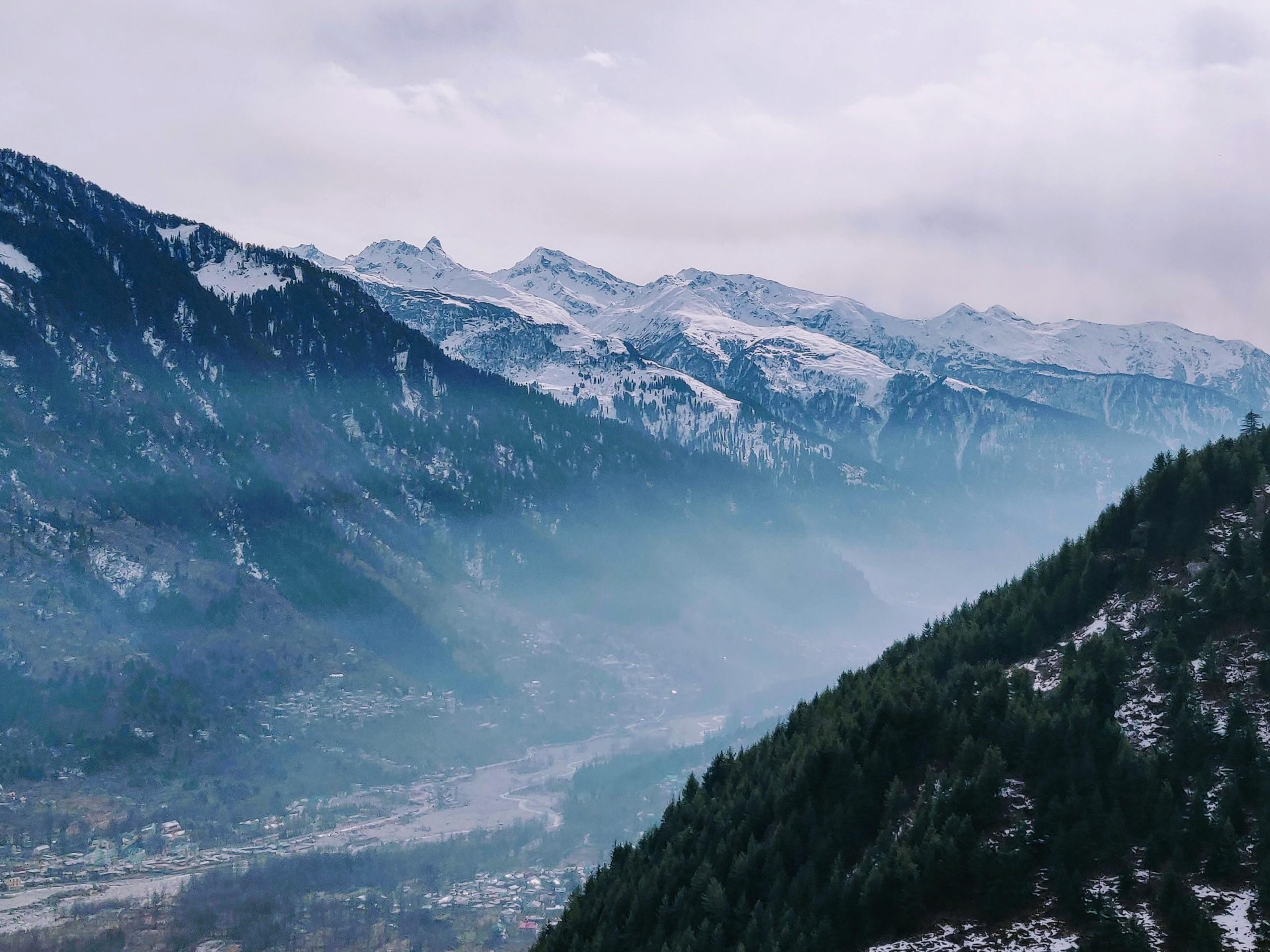 Alpine Mountain Range