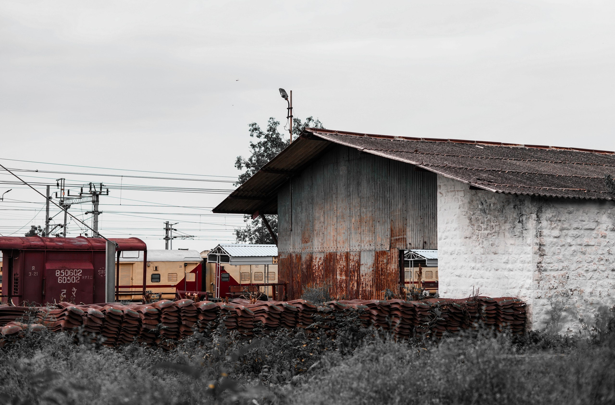 An Old Railway Station