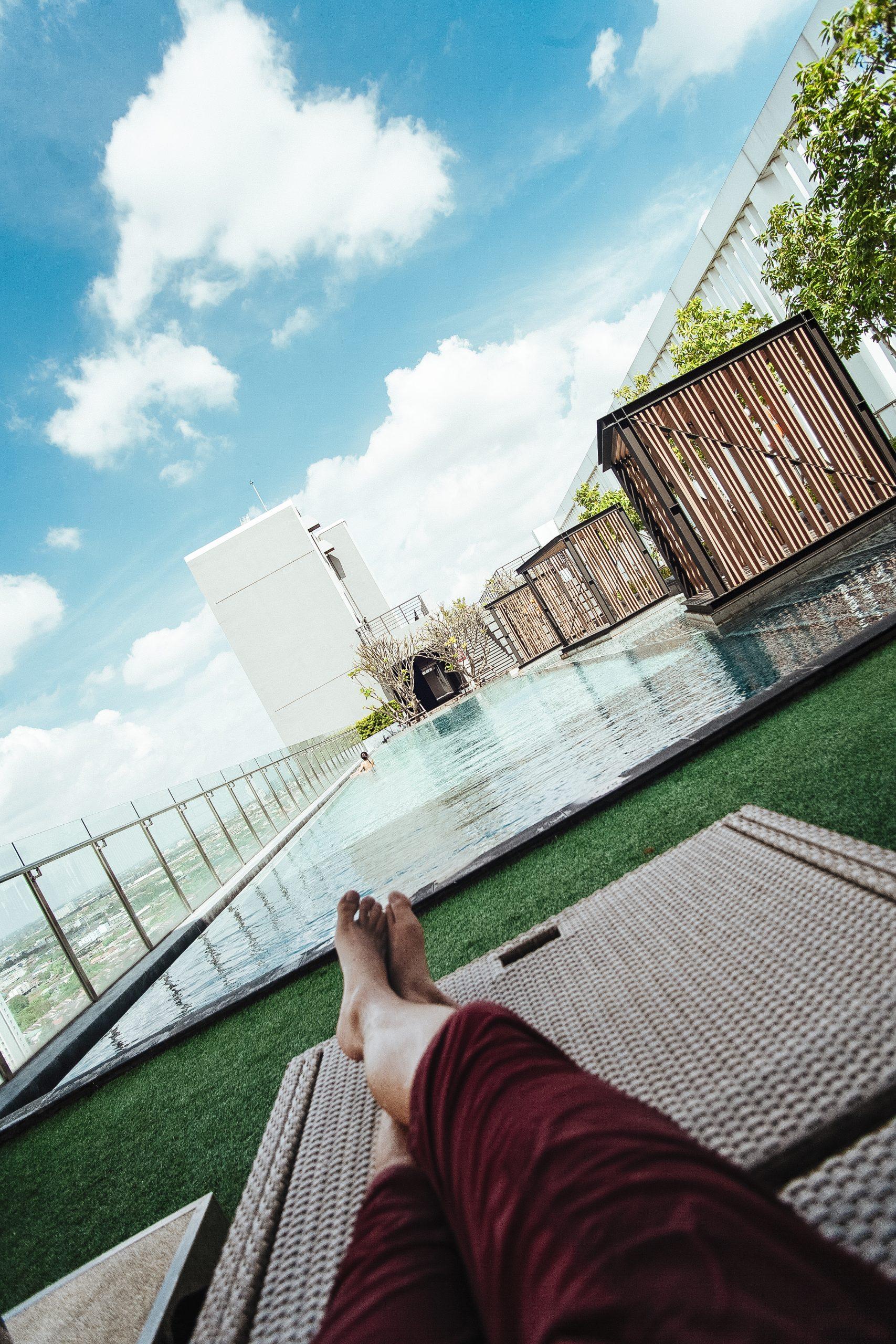 Bangkok Rooftop Pool and Hotel