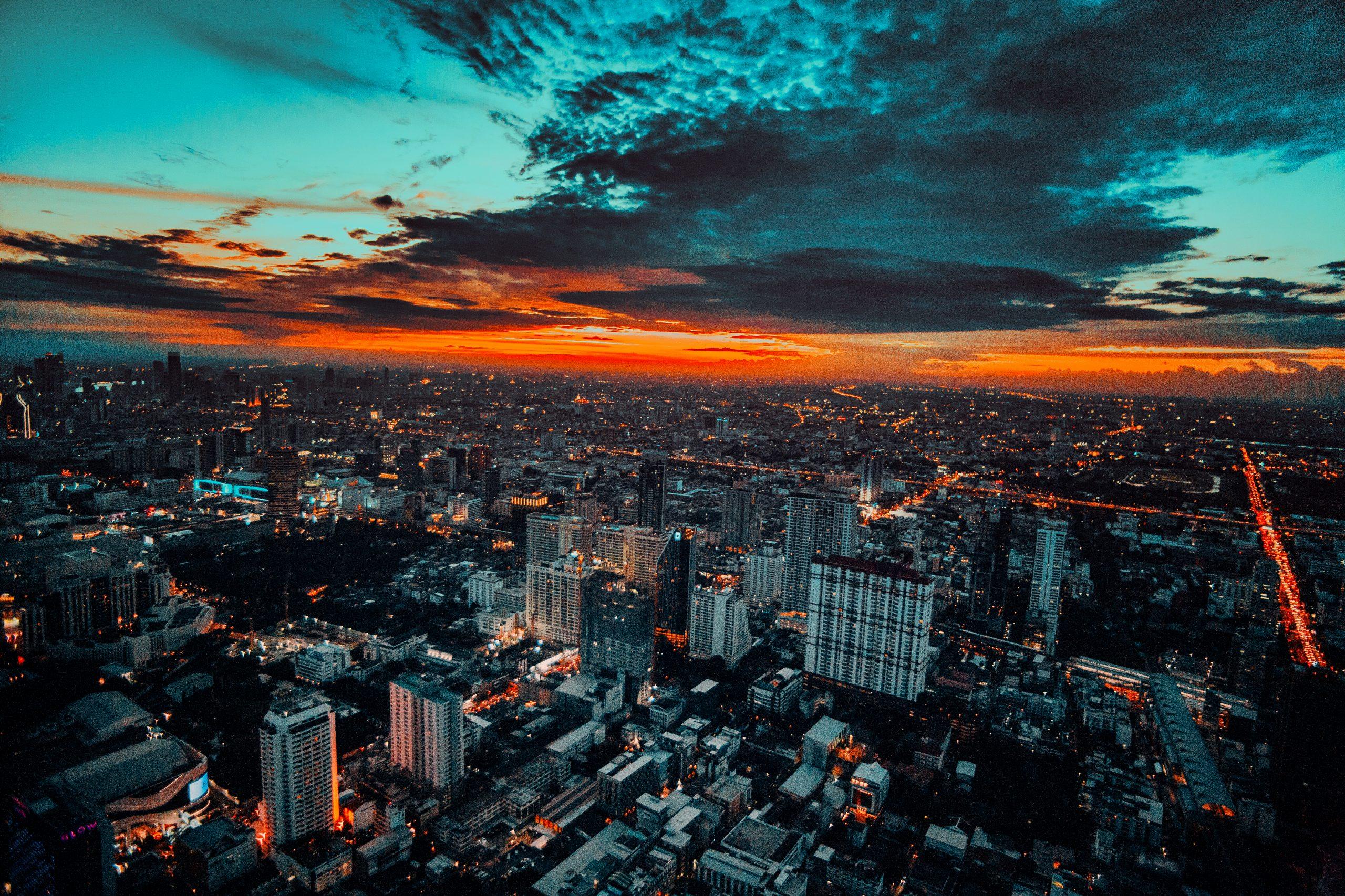 Bankgok Cityscape Dusk