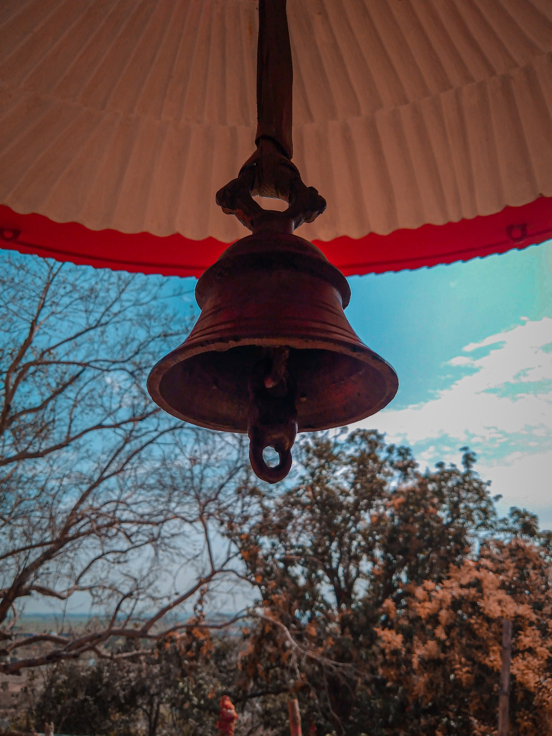 Bell of a Temple