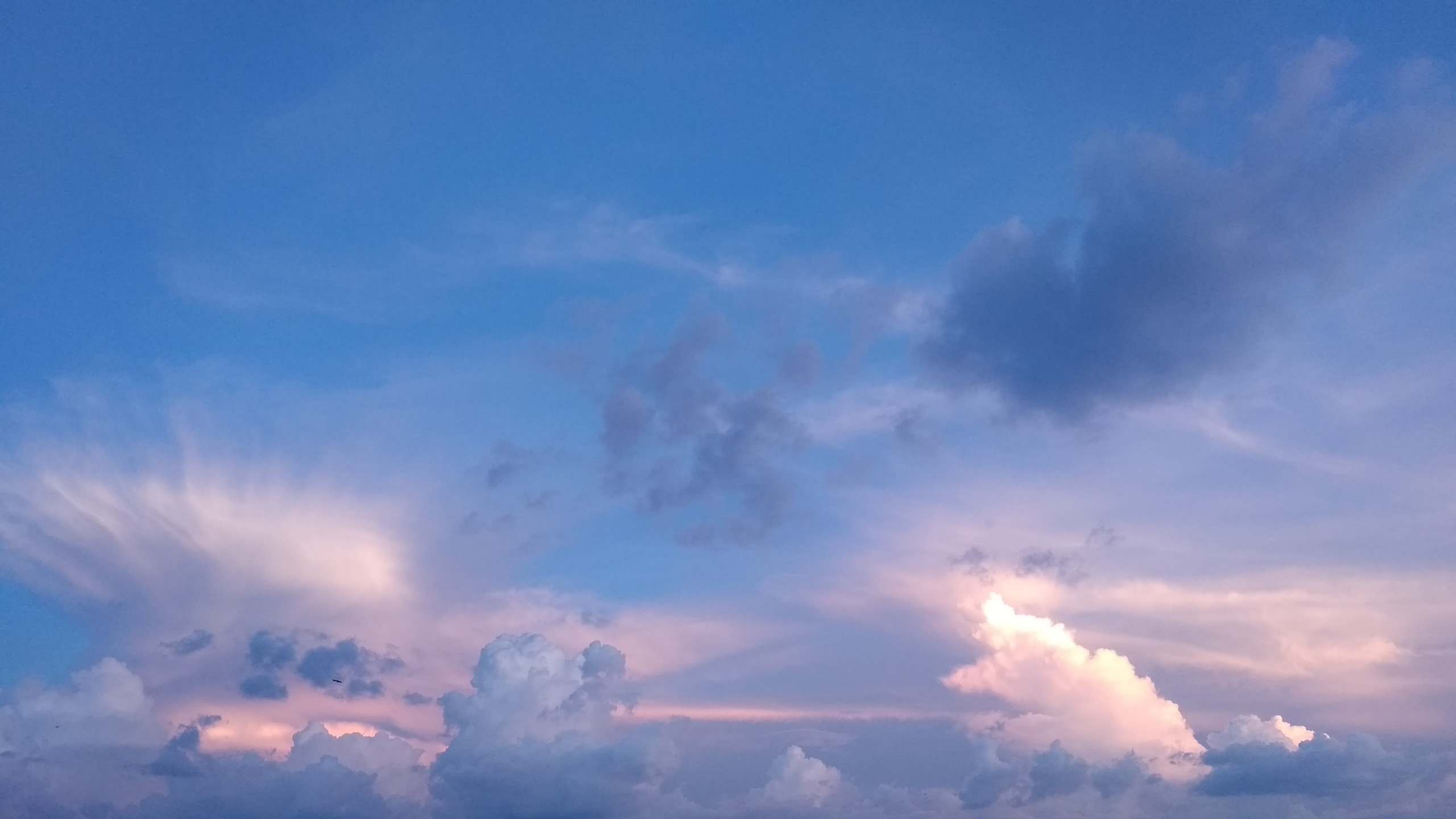 Sky in the evening