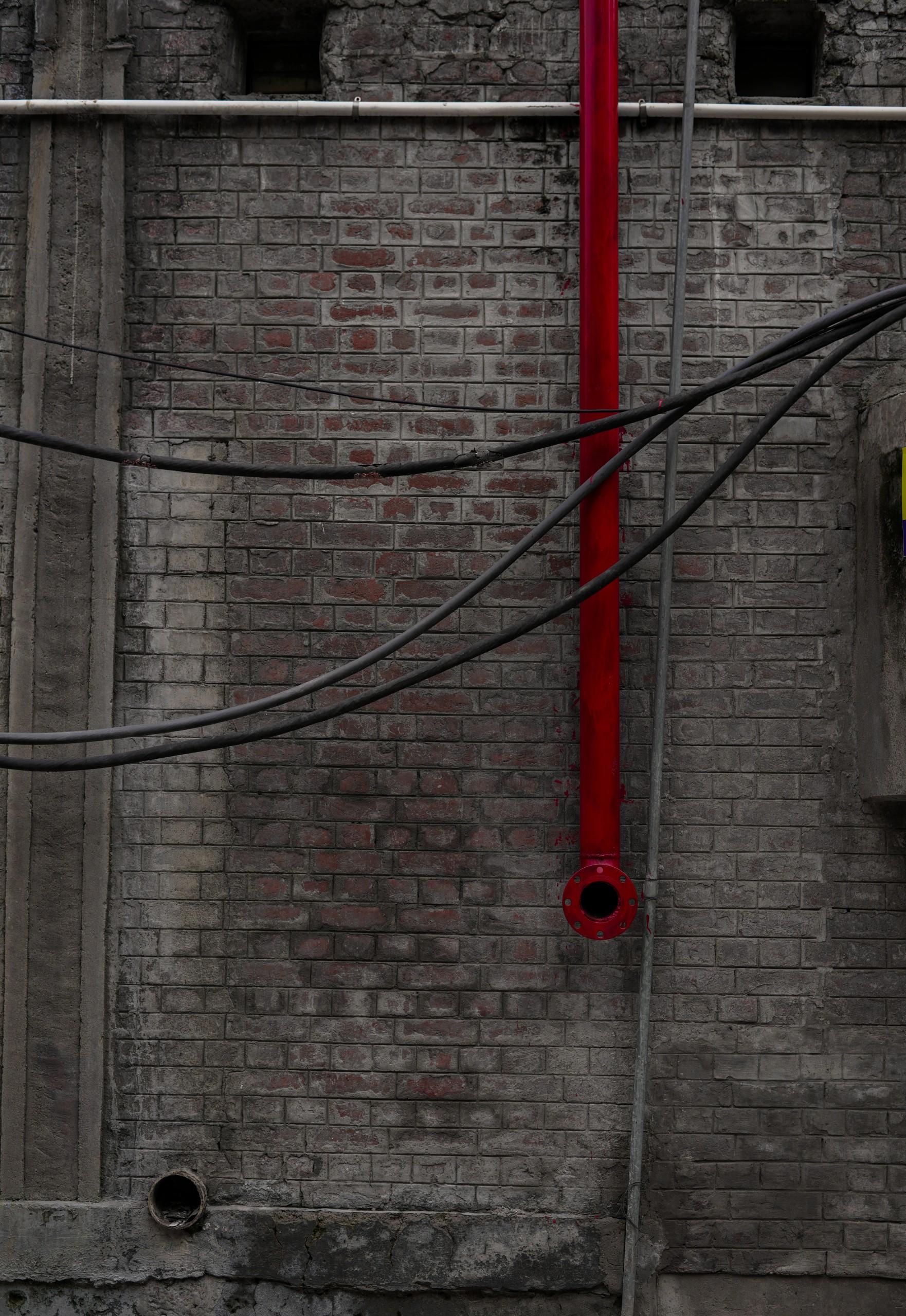 Bricks Street Wall