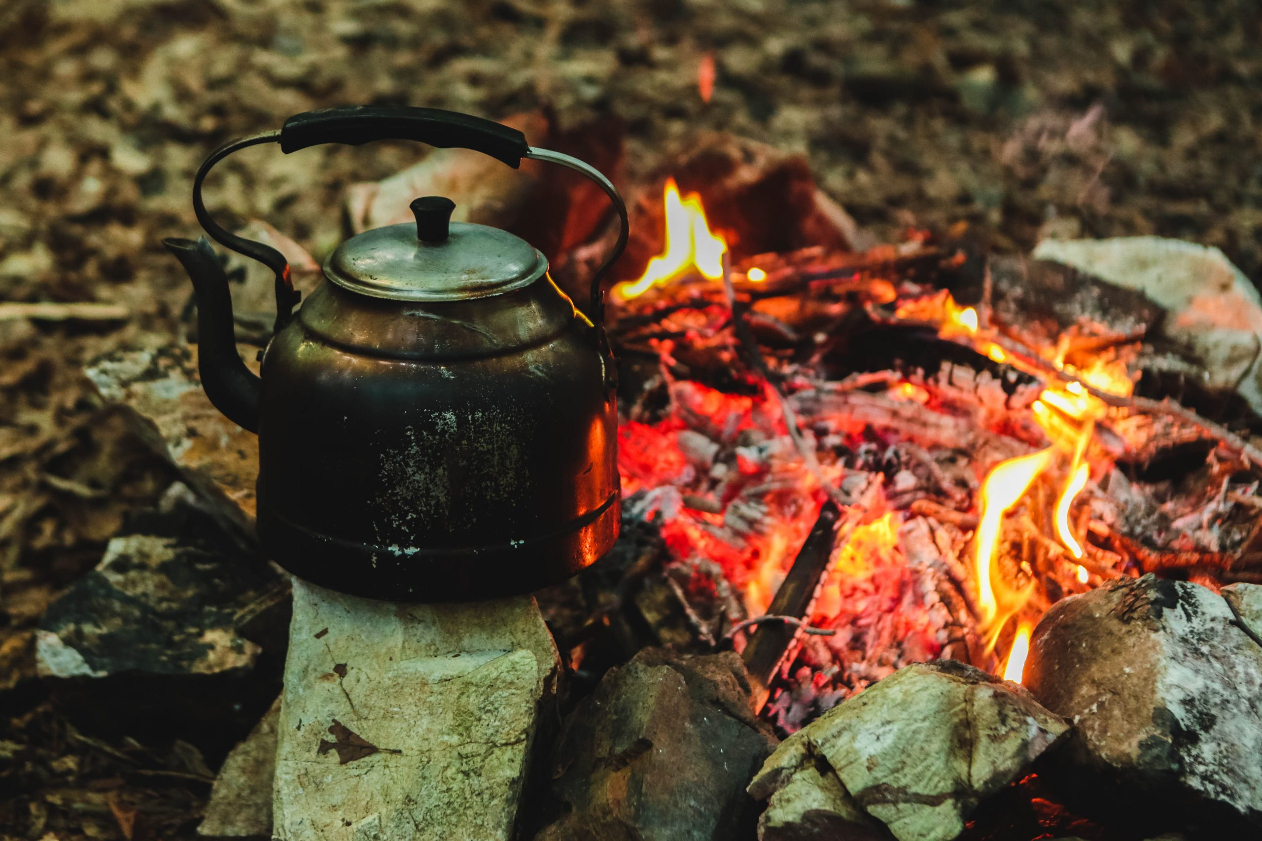 Camping tea