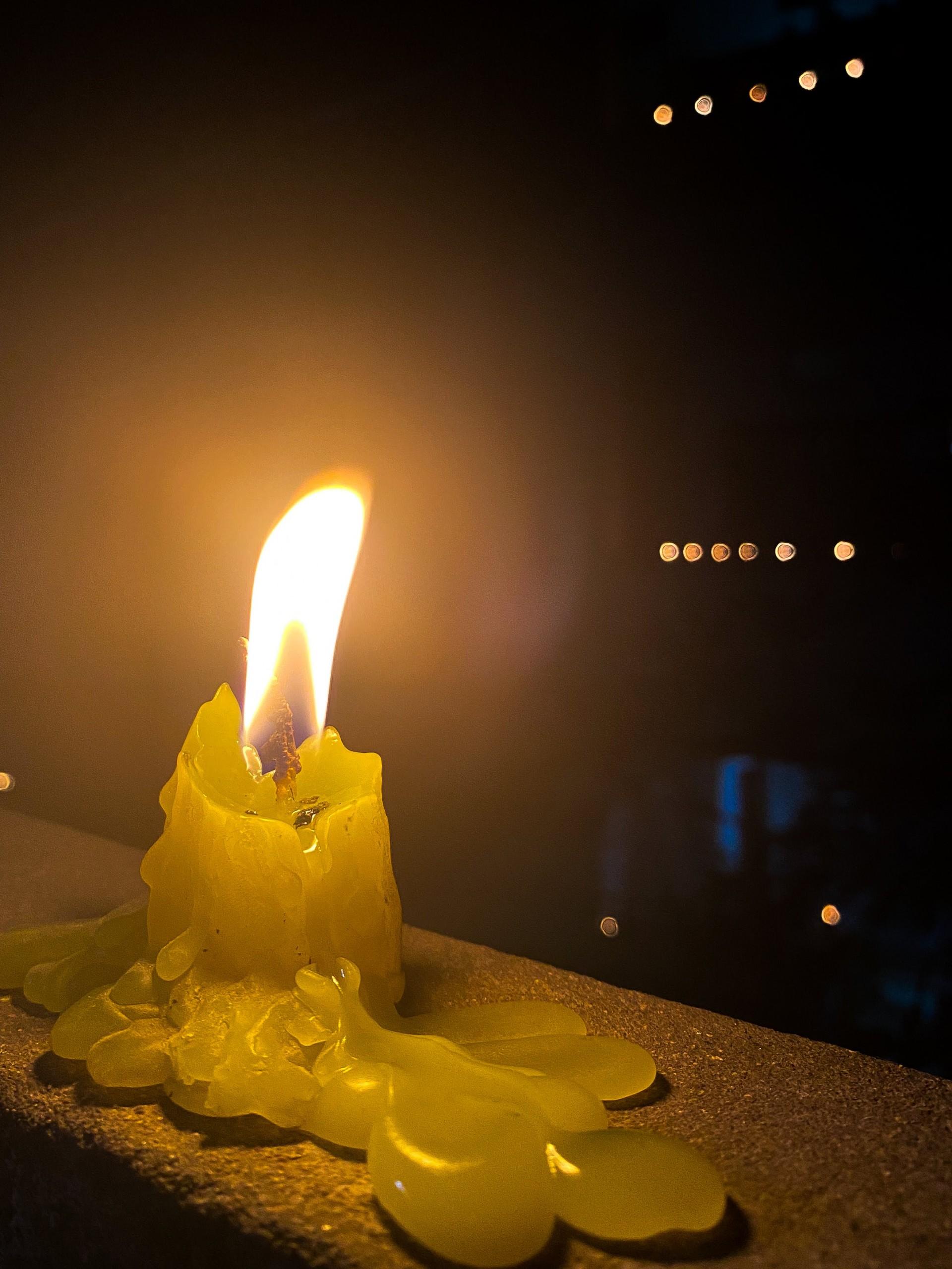Melting Candle