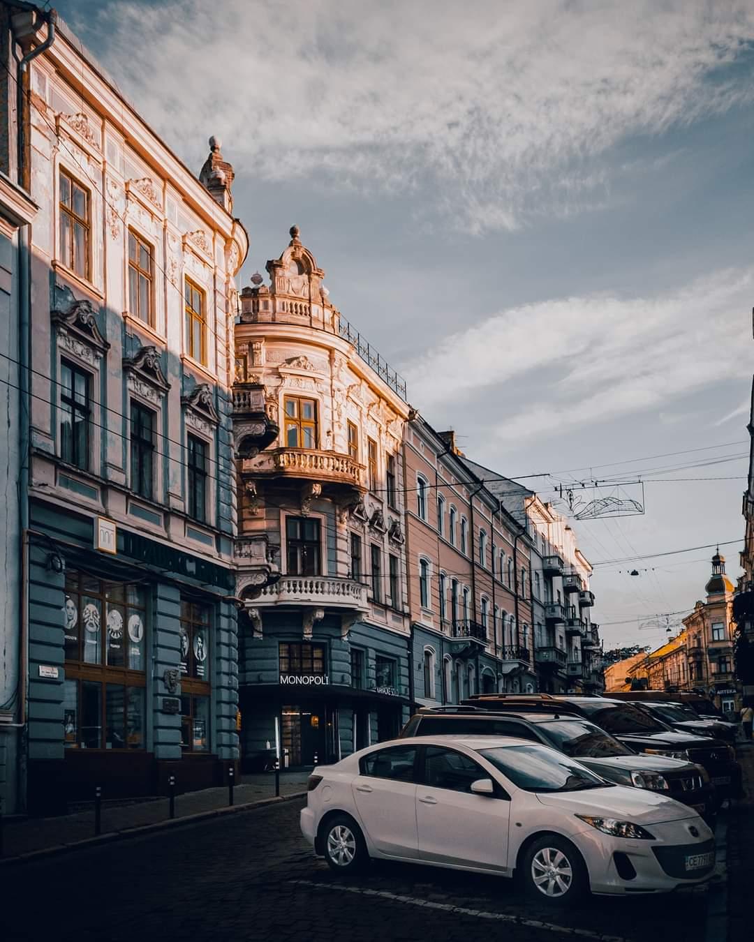 Car Parking in Ukraine