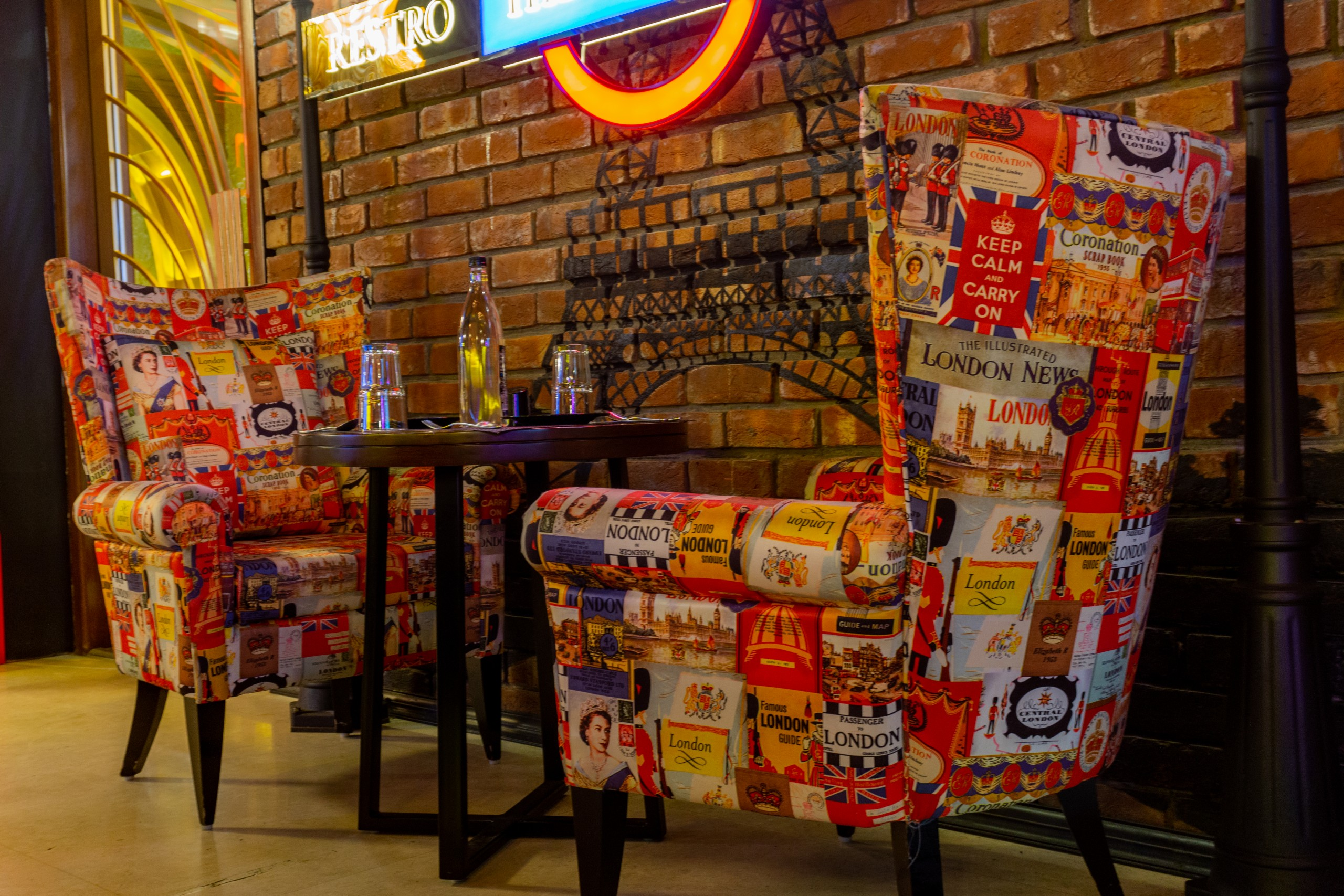 Chairs in a Pub