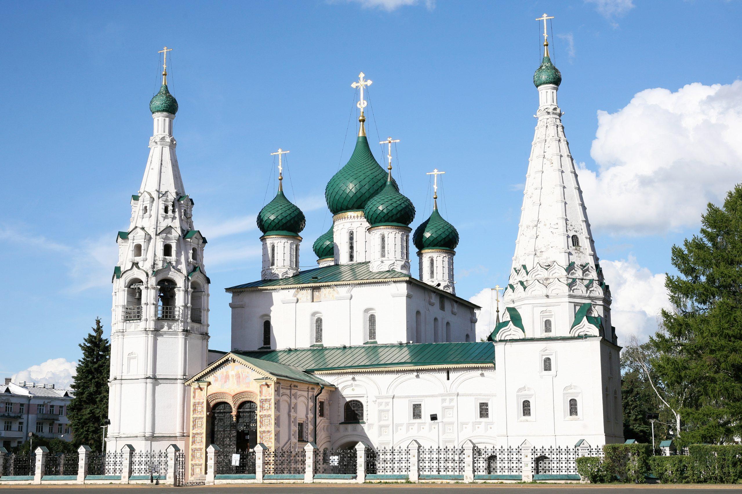 Historical Church in Yaroslavl