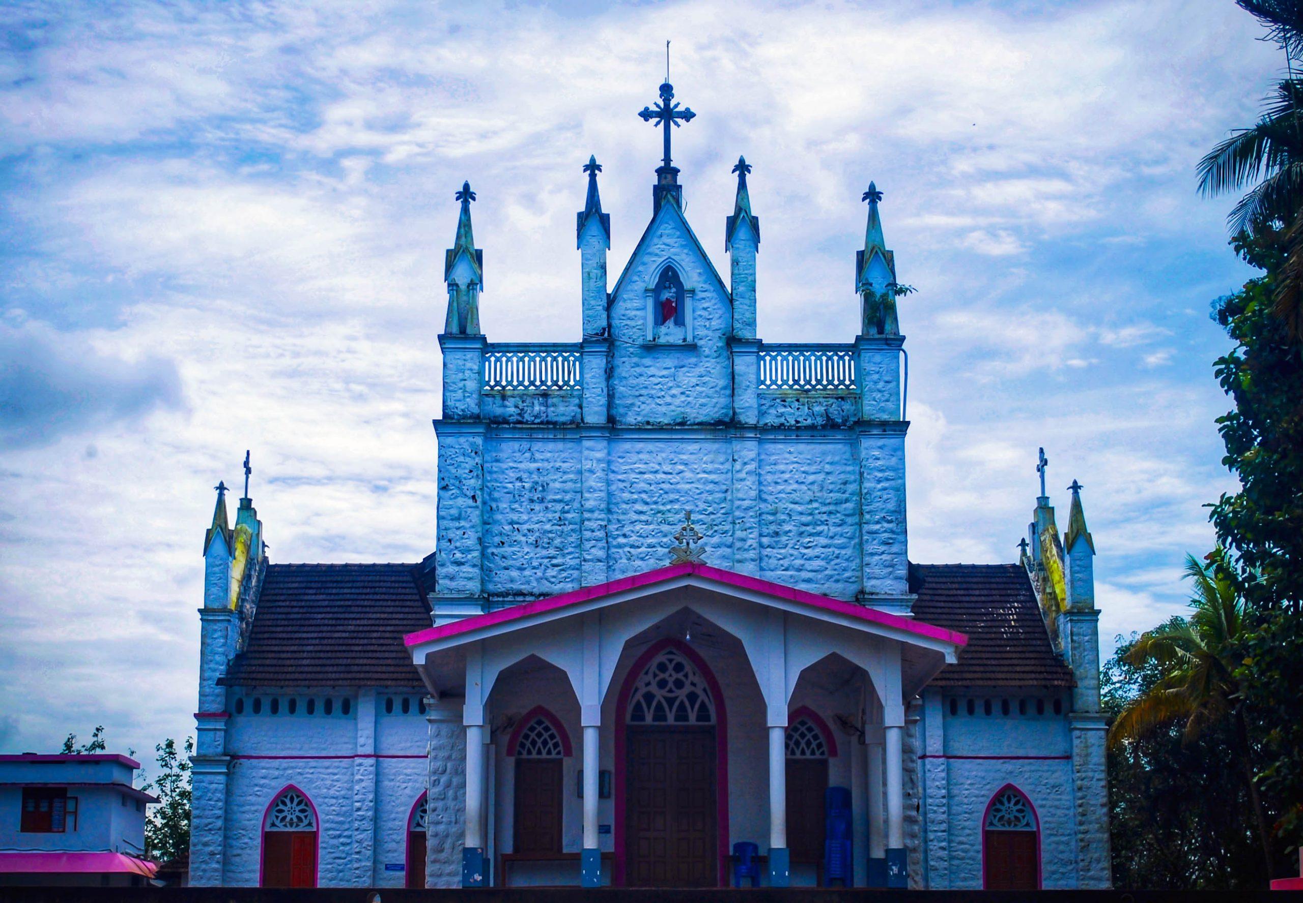 Entrance of a church
