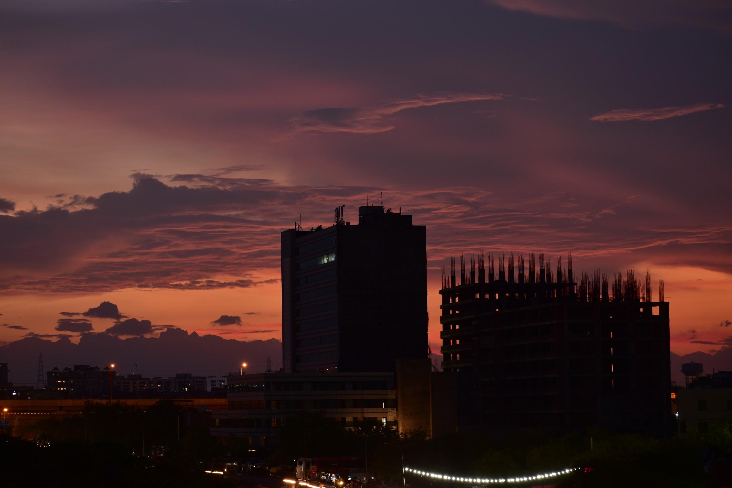 city view cityscape india