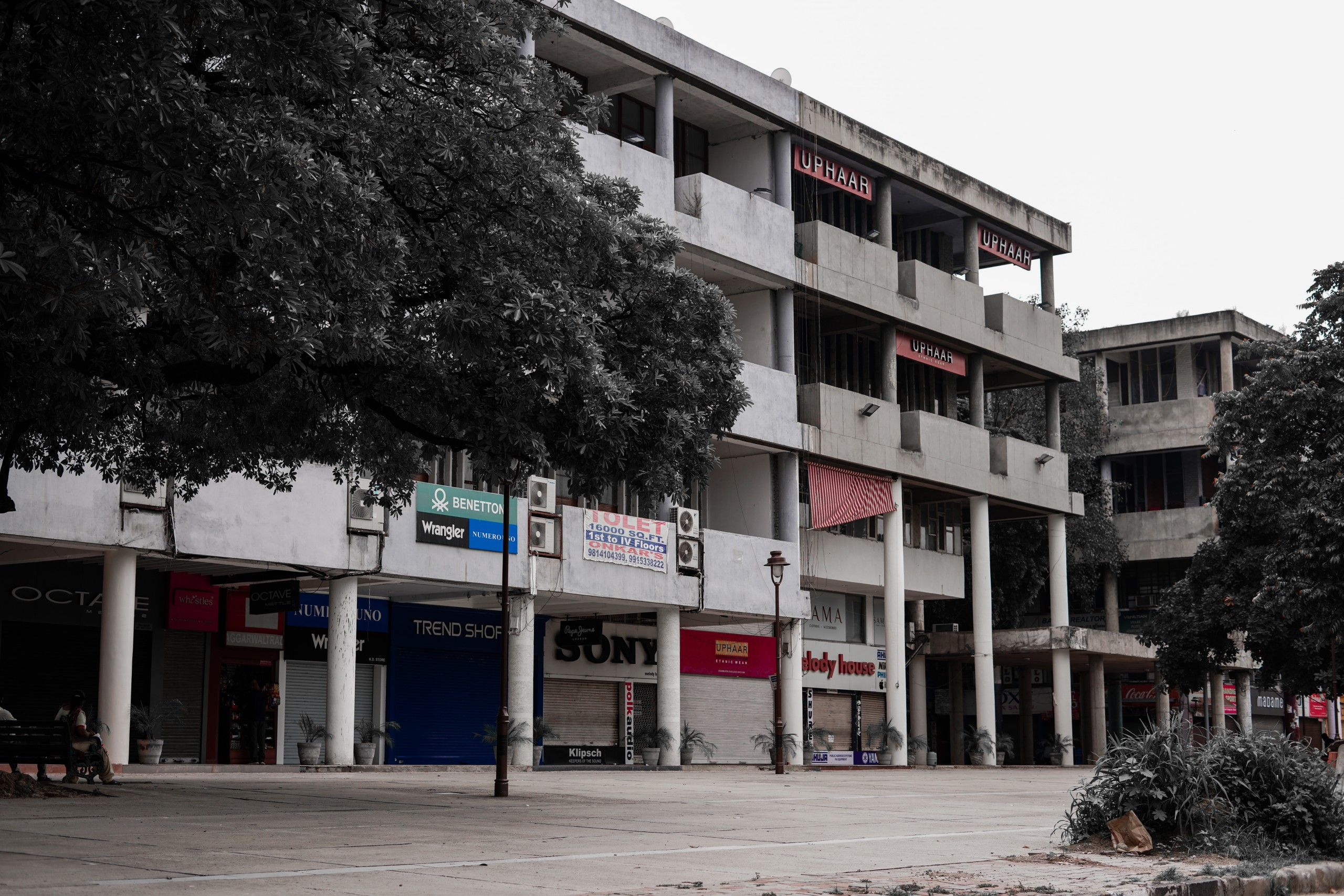 Closed Shops and Malls
