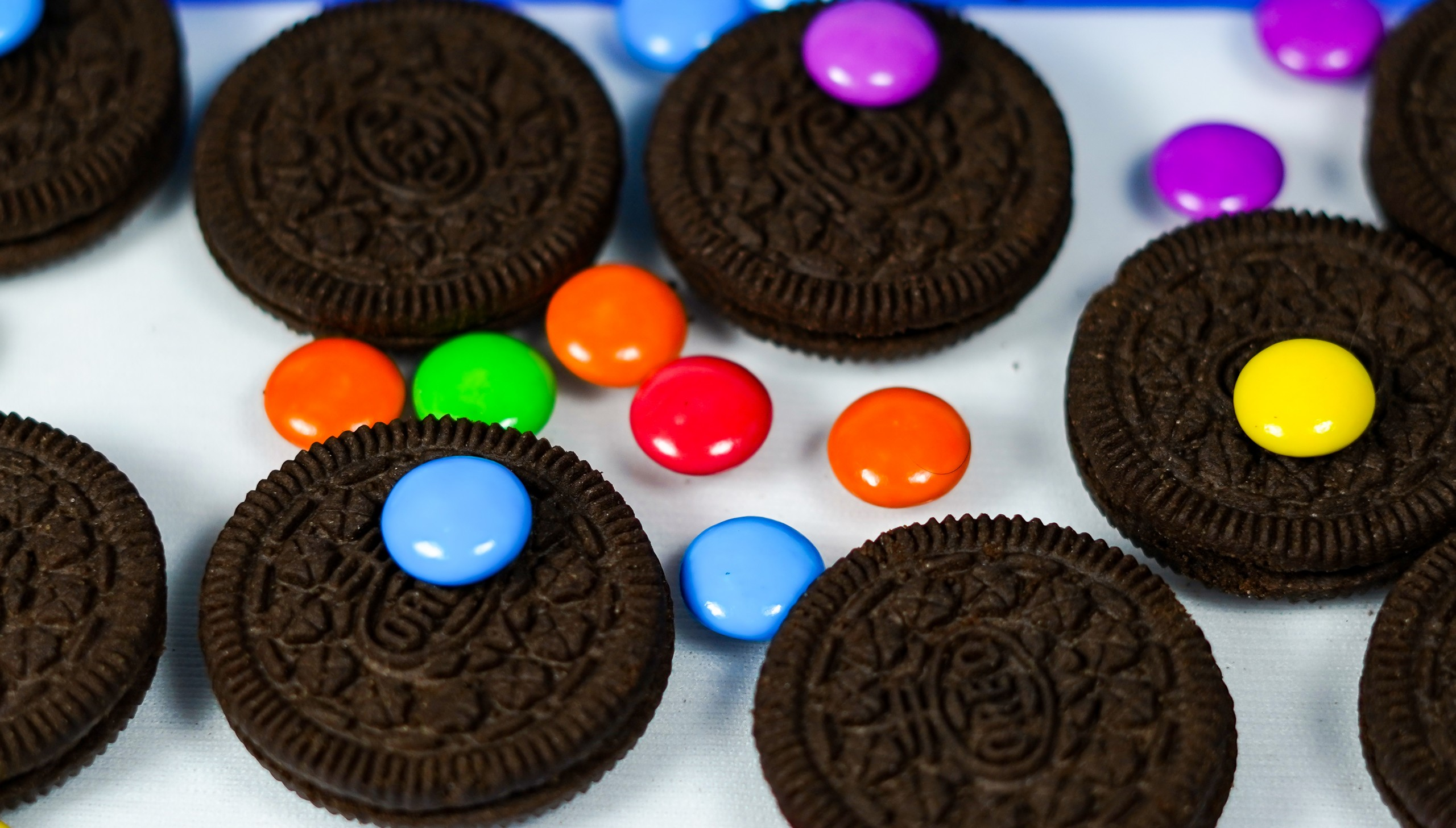 Colorful Tasty Oreo with Candy