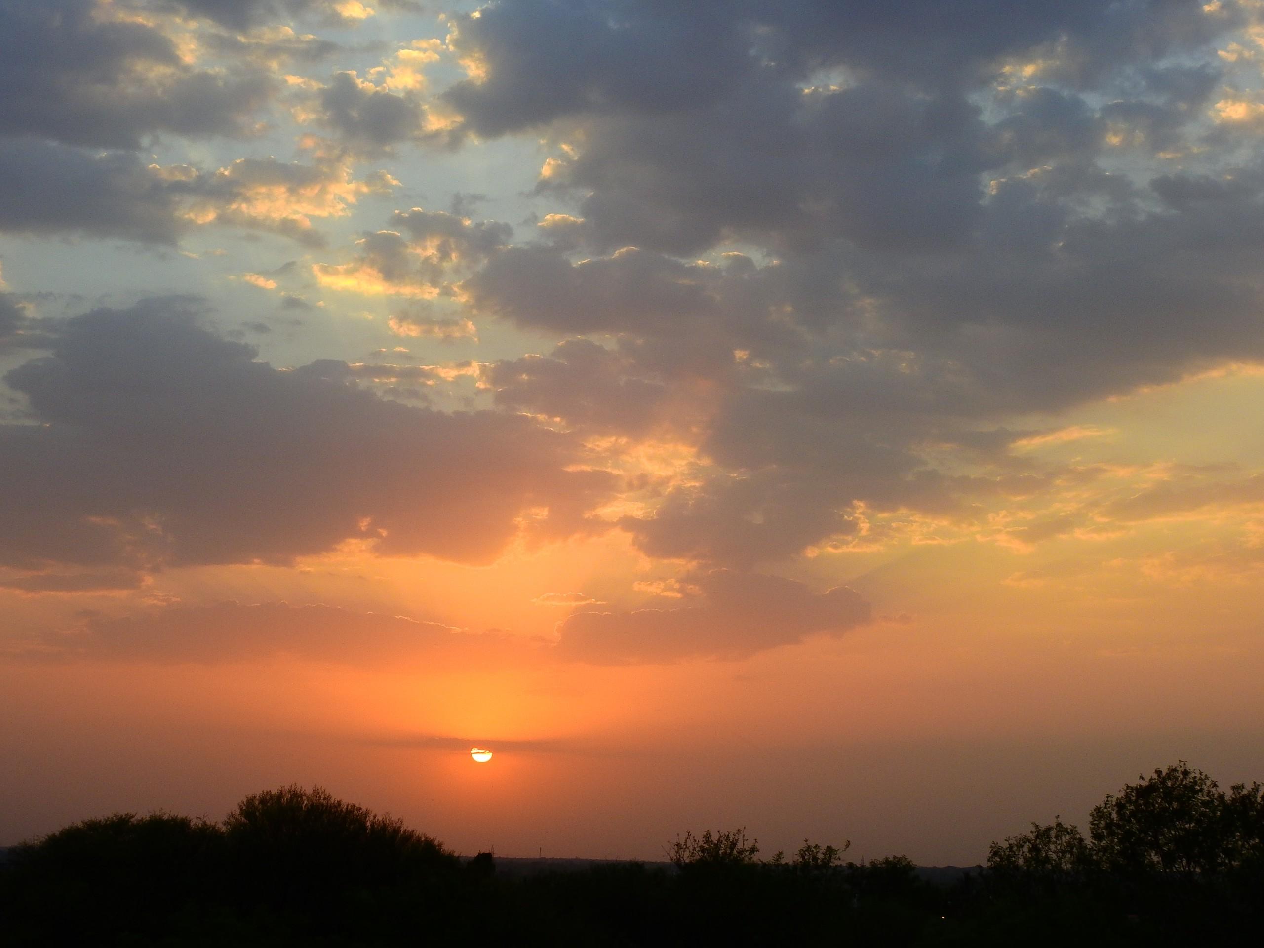 Deep Sunset from Solapur