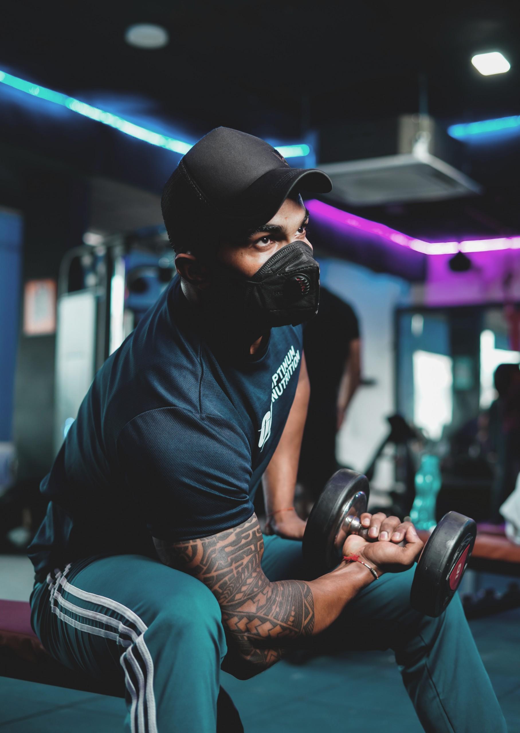 Dumbbells workout for biceps