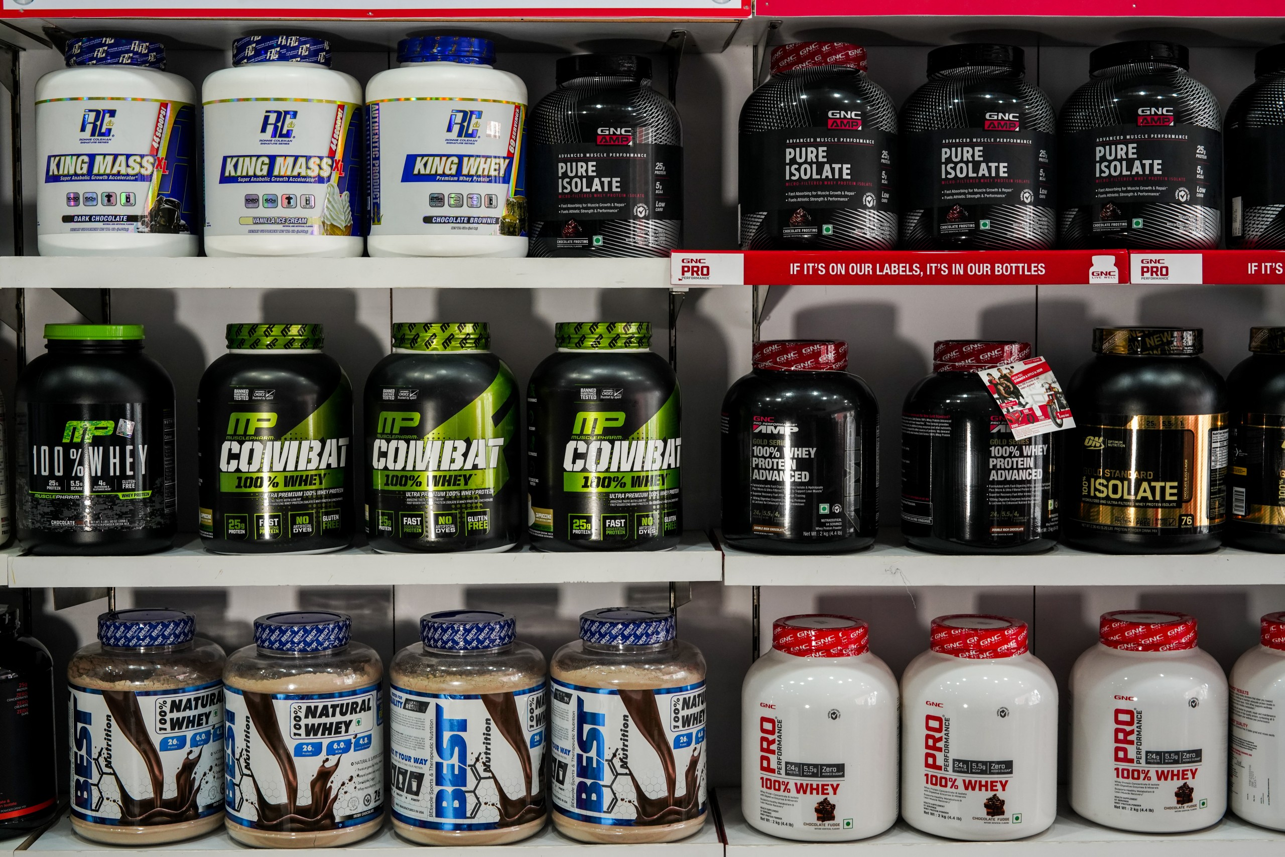 Flavours of Boost Supplements