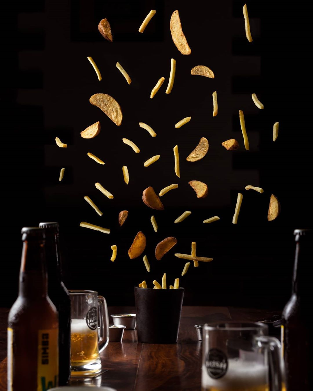 Chips Falling Down