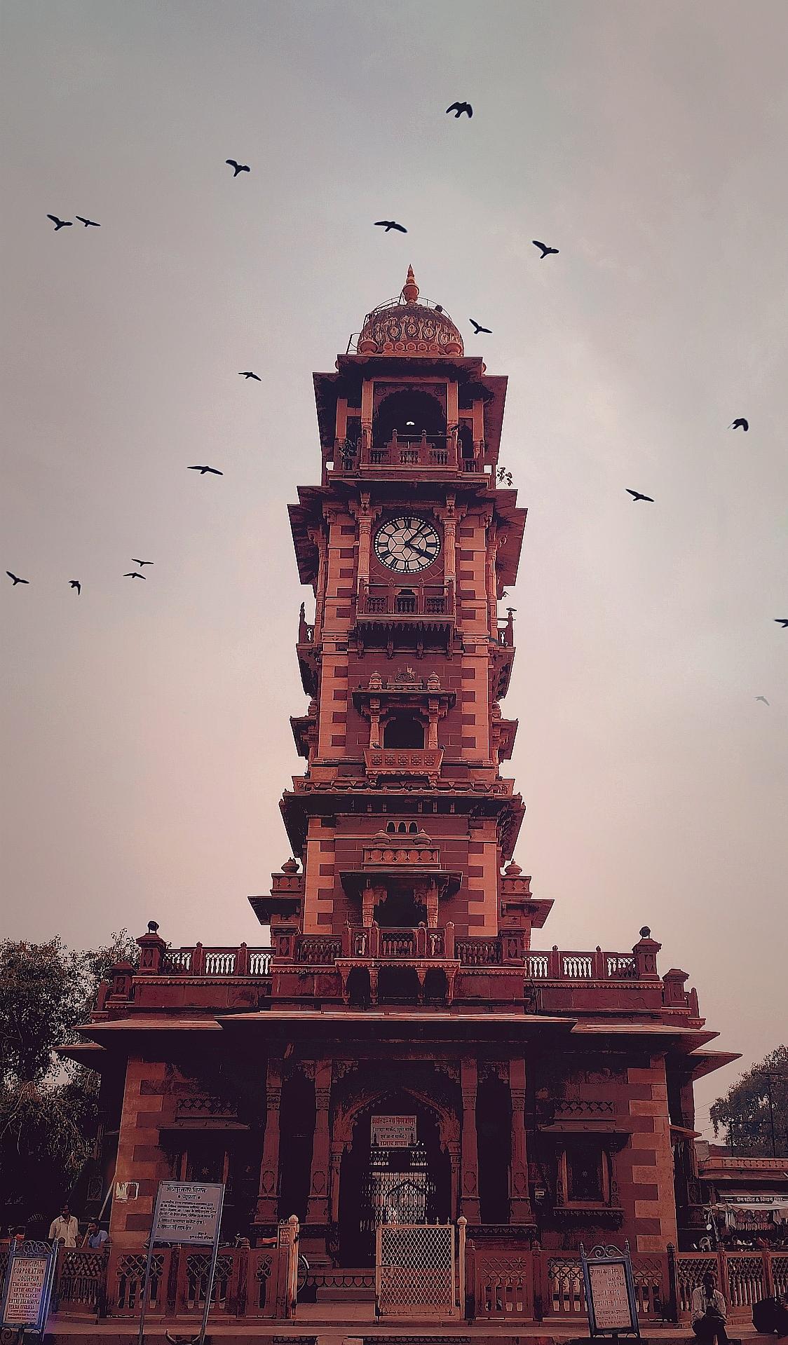 Ghanta ghar ancient architecture