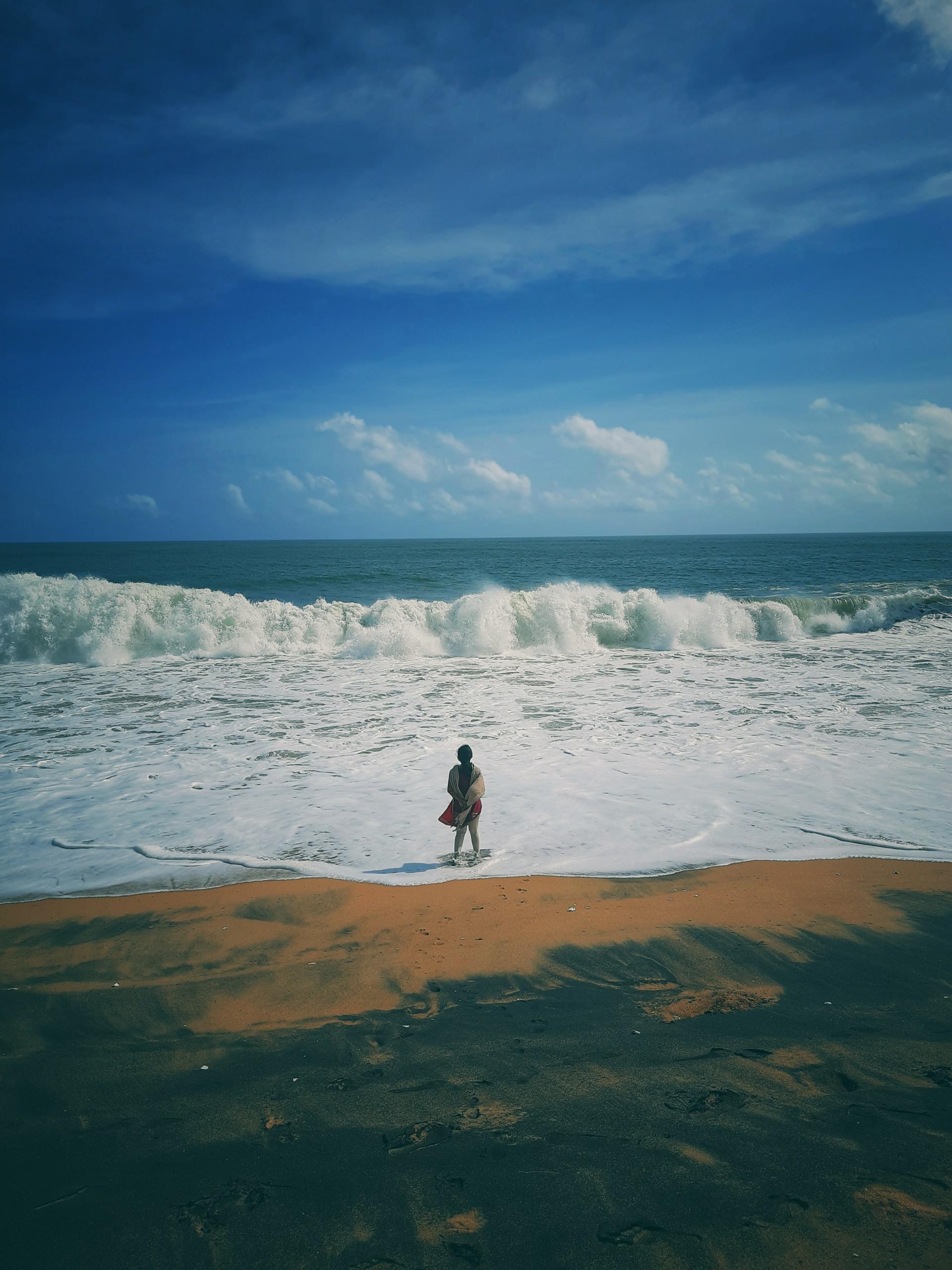Girl in the Beach