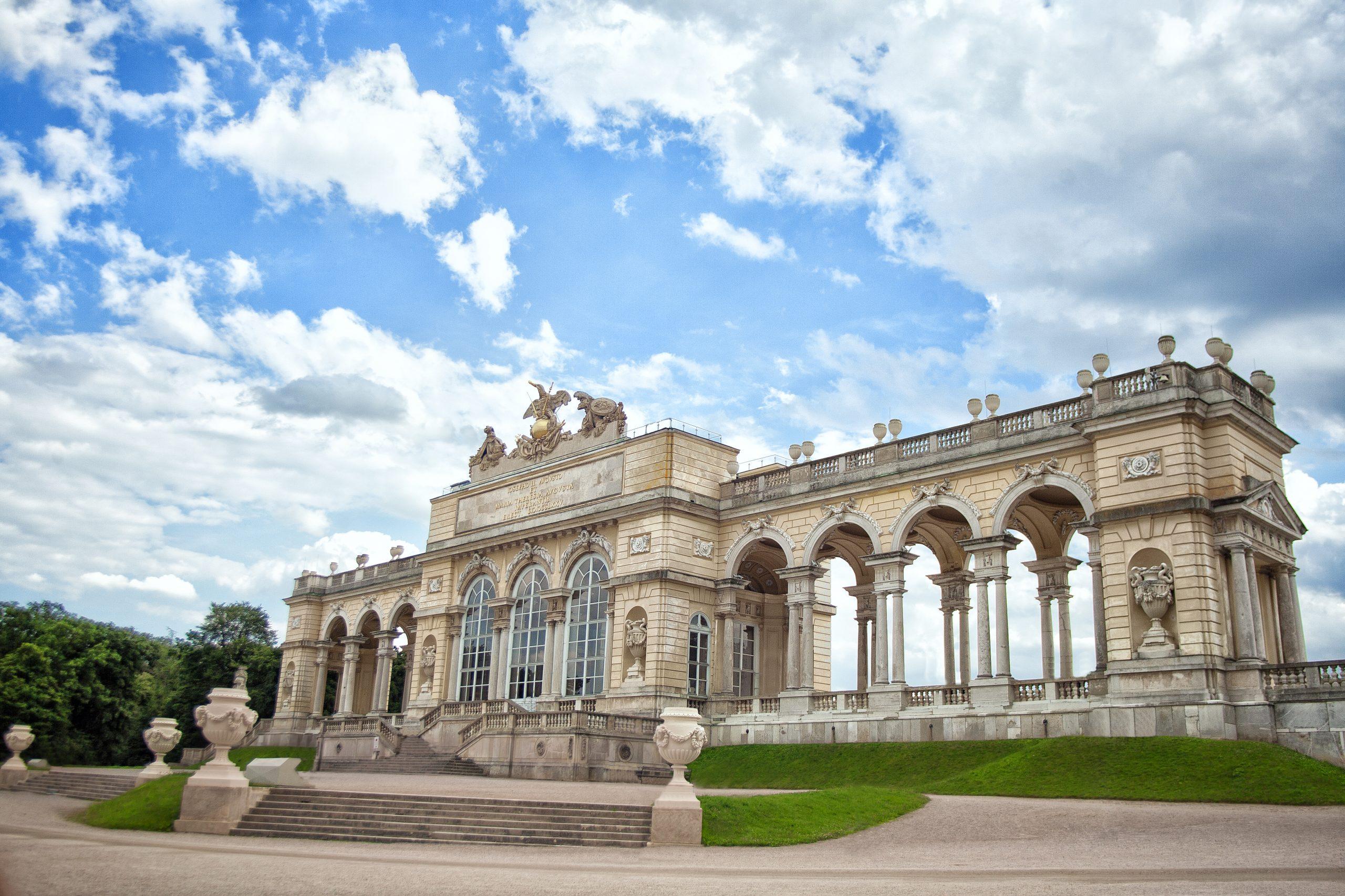 View of Gloriette in Schonbrunn - Vienna