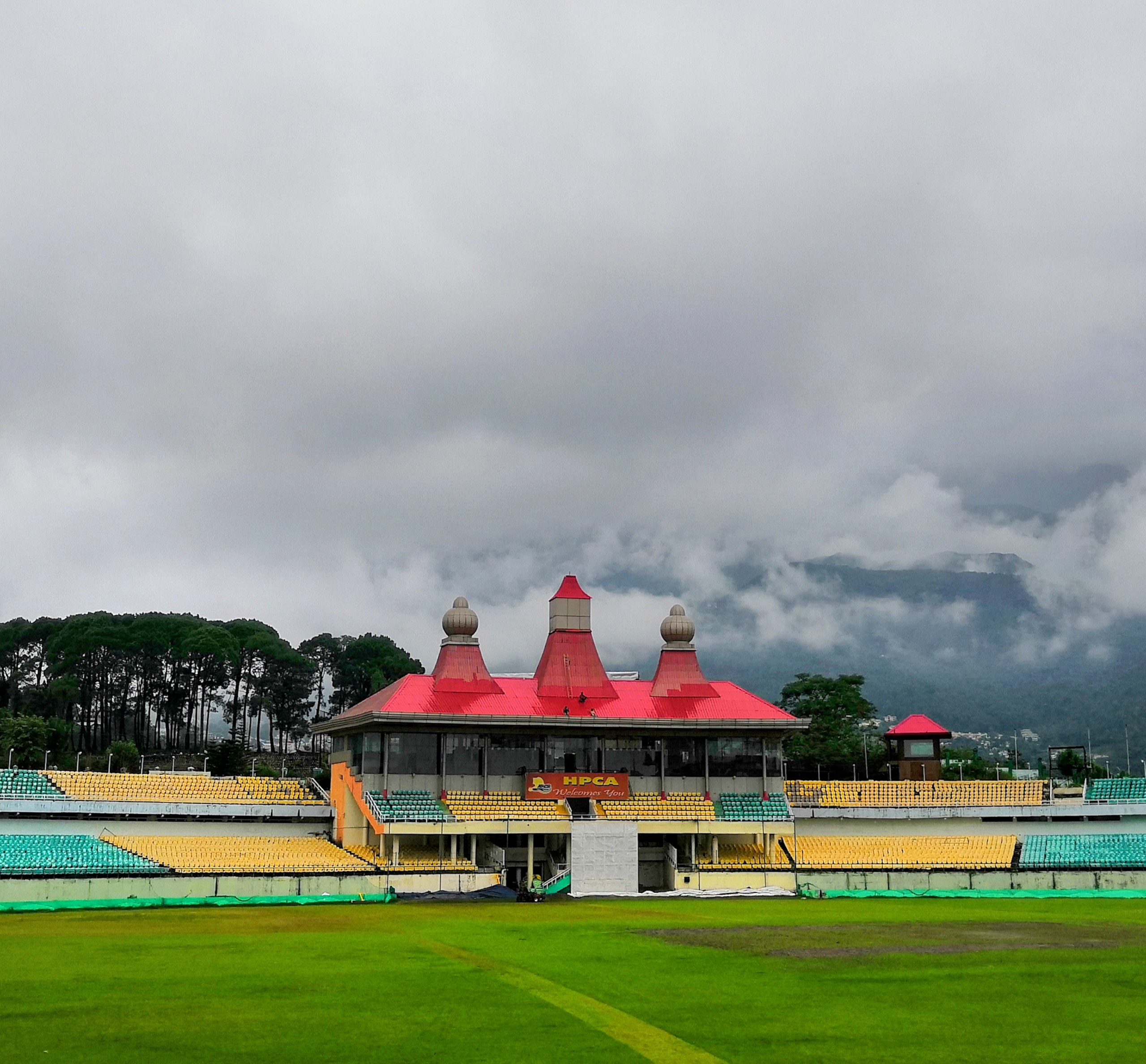HPCA cricket stadium, Dharamshala