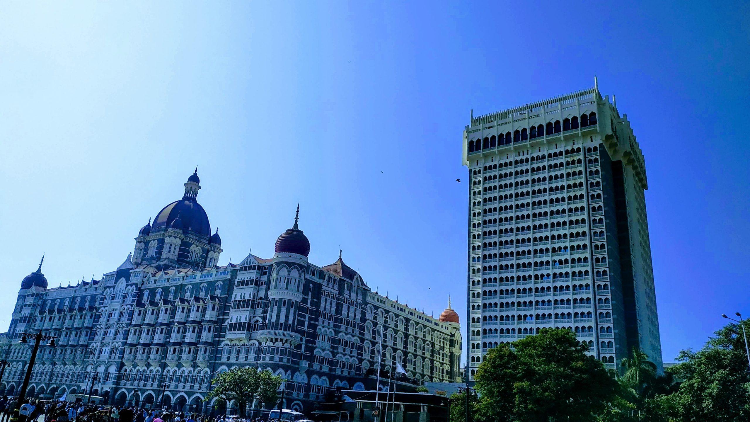 Hotel TAJ Mumbai view