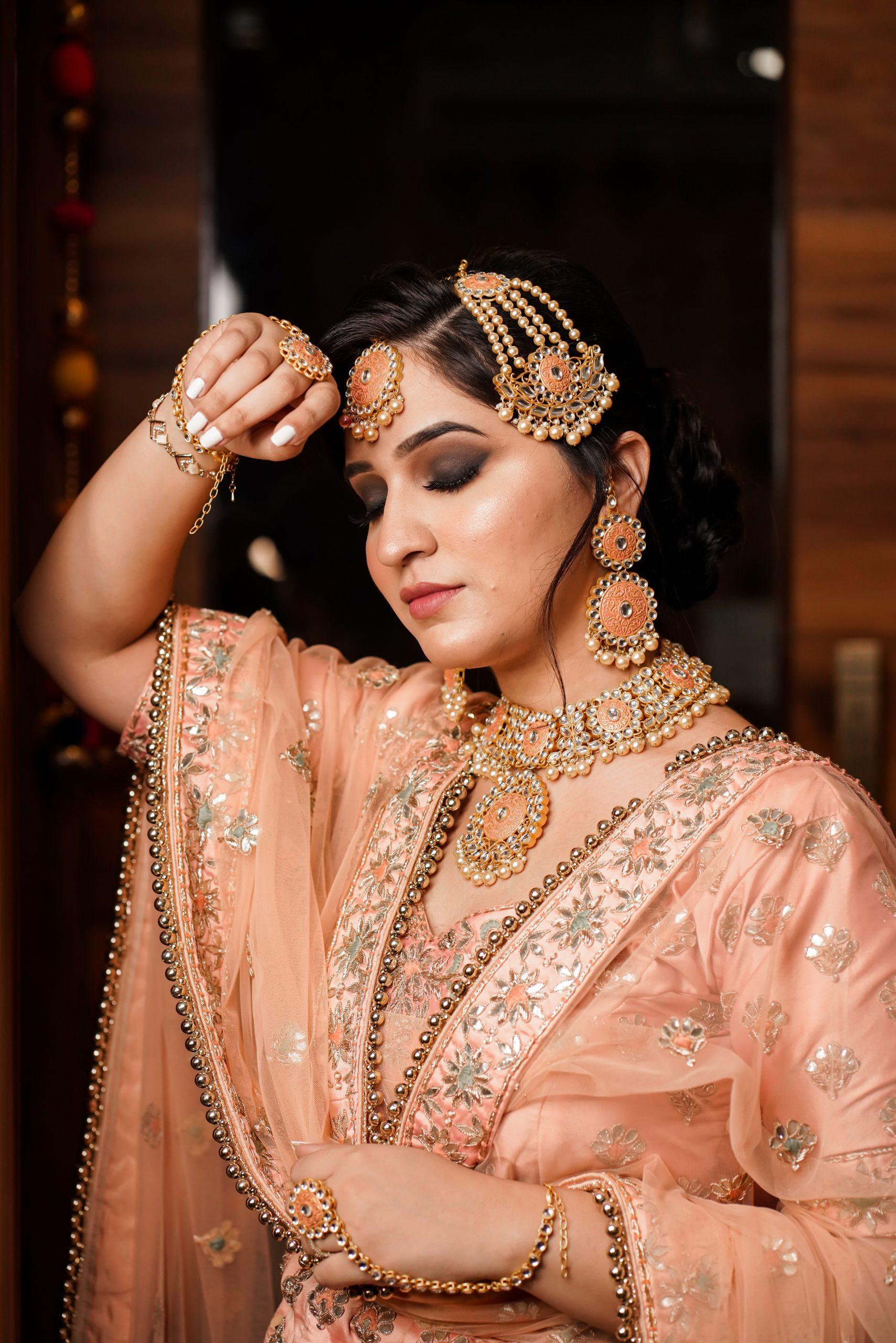 Indian Girl in Bridal Dress