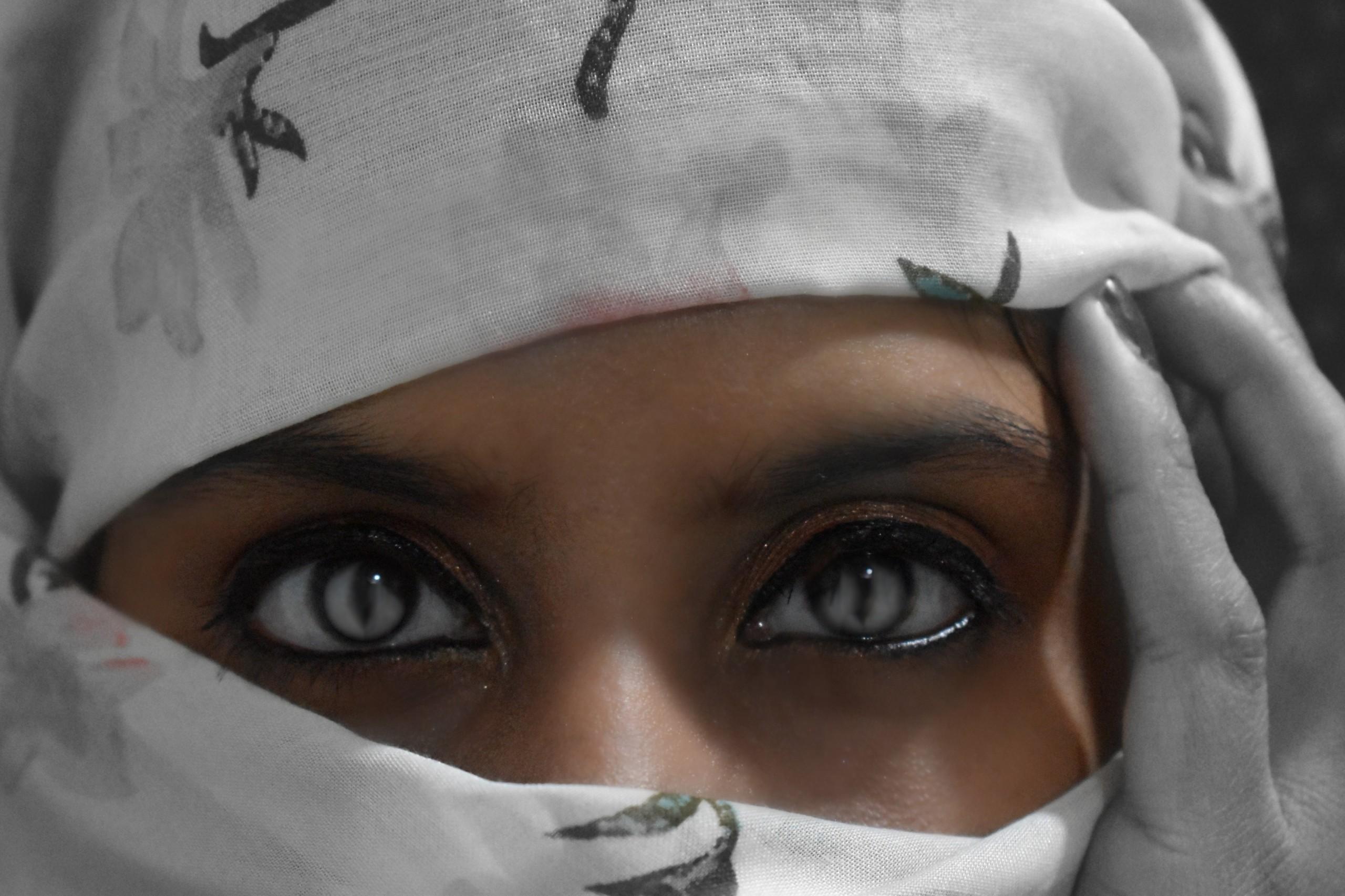 Indian Girl's Eyes