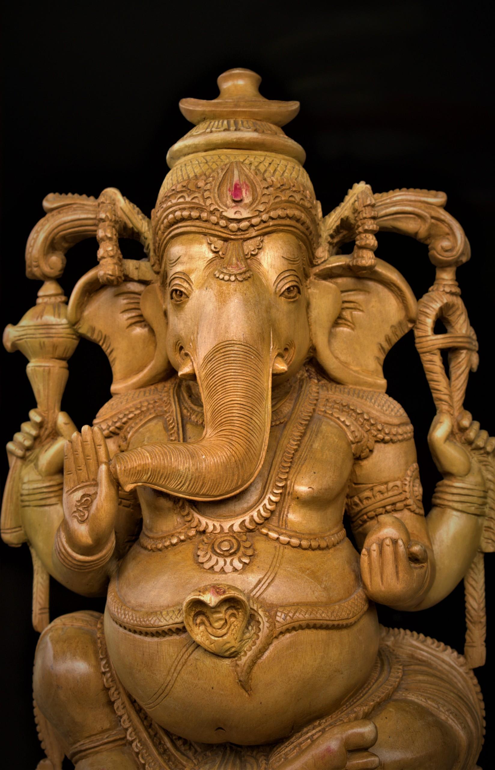 Indian God Ganesha's Idol