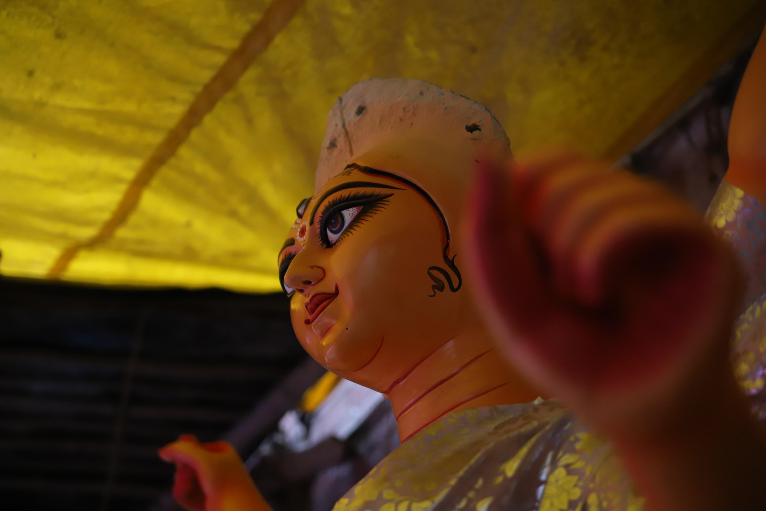 Indian Goddess Idol