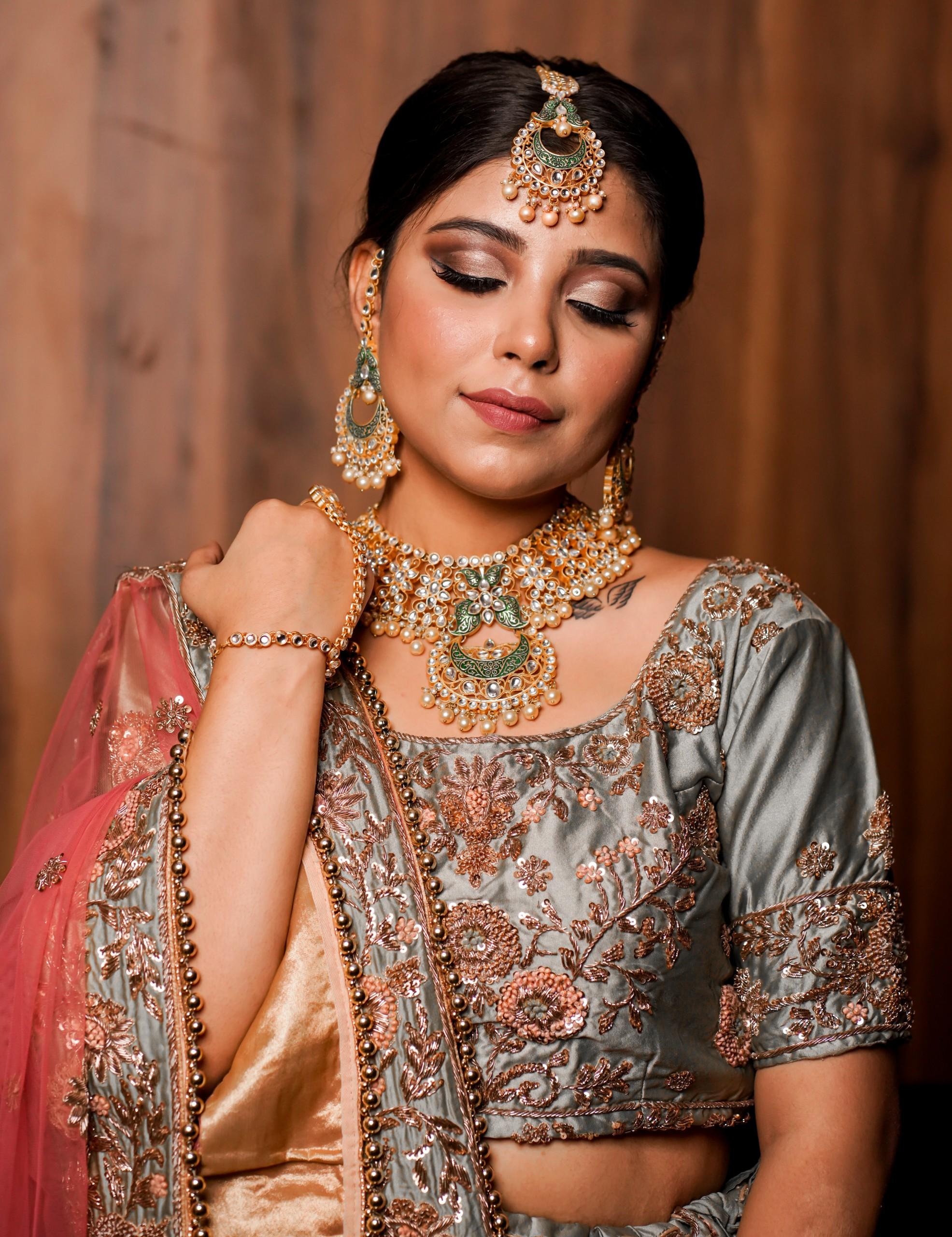 Indian bride's makeover