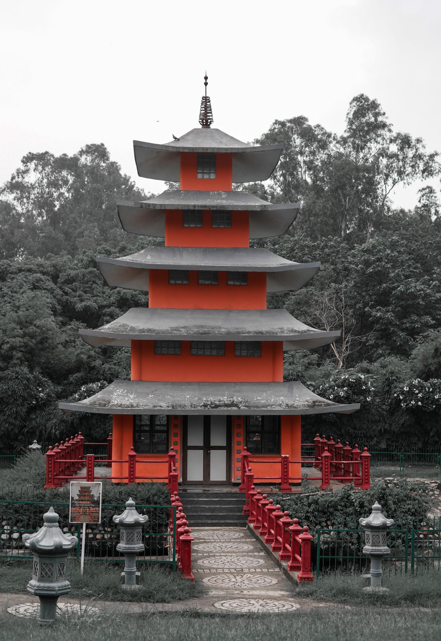 Japanese Temple Hut