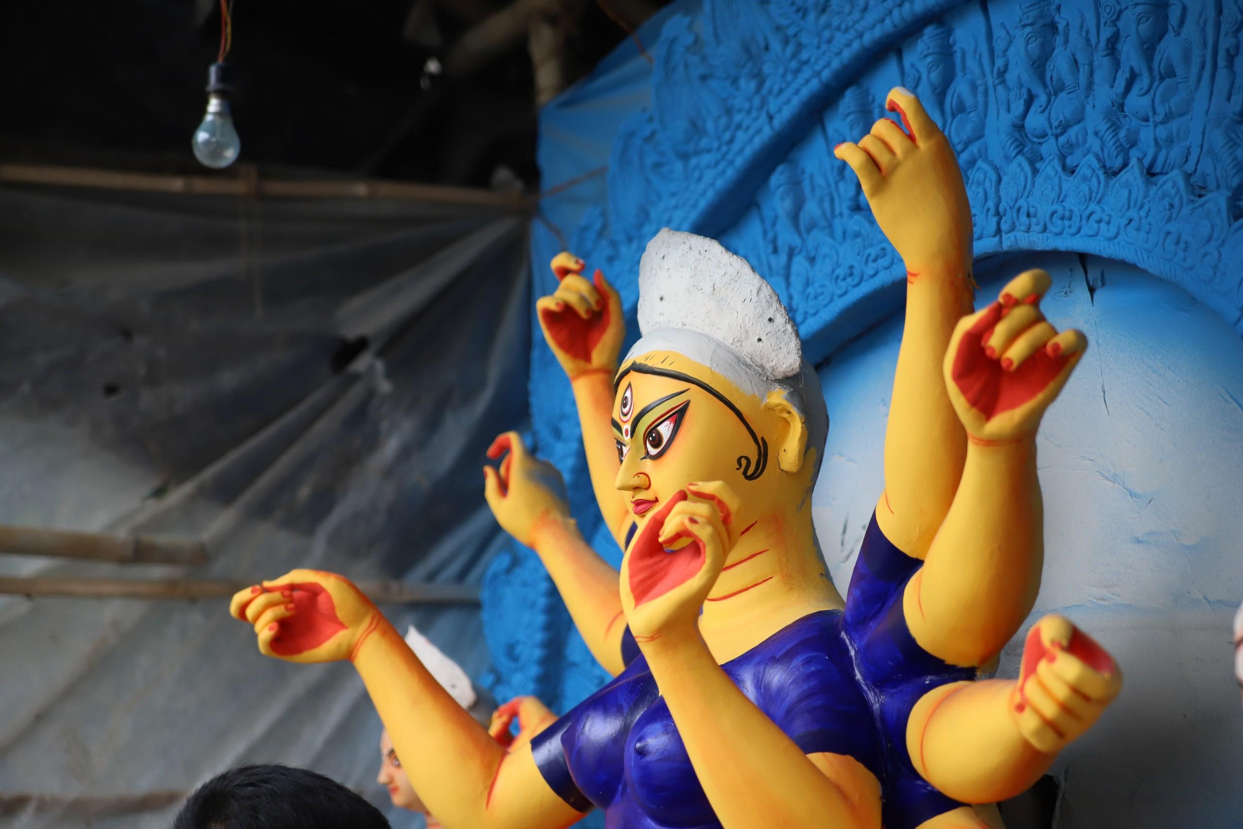 Goddess Durga Sculpture