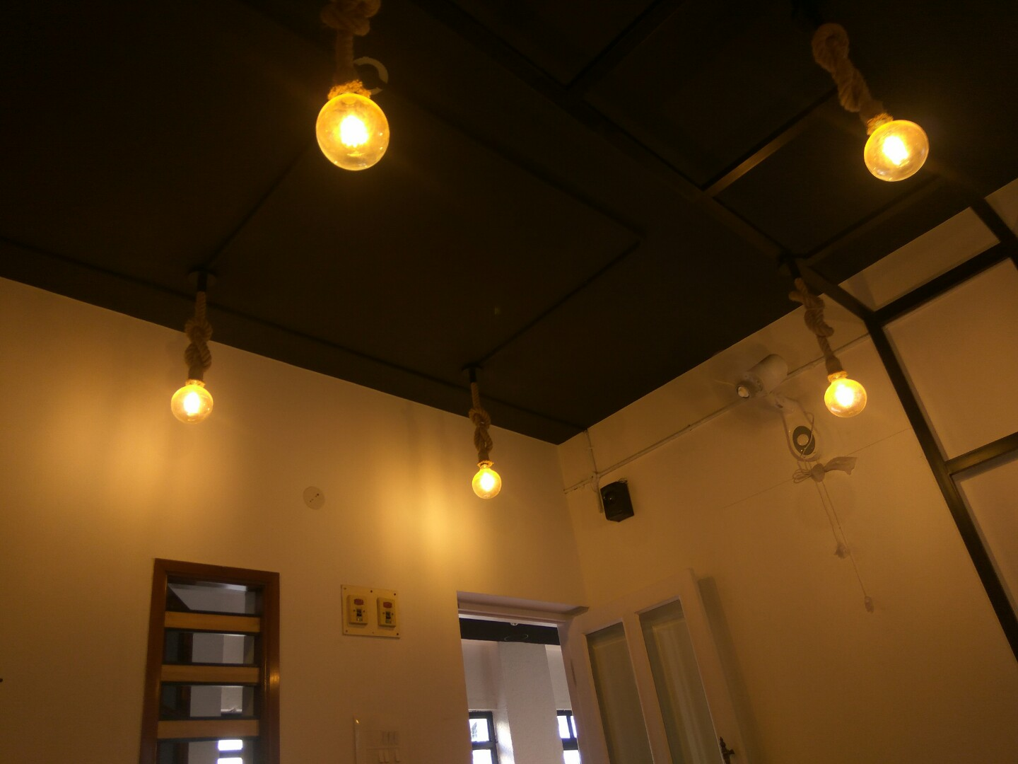 Lights in a room