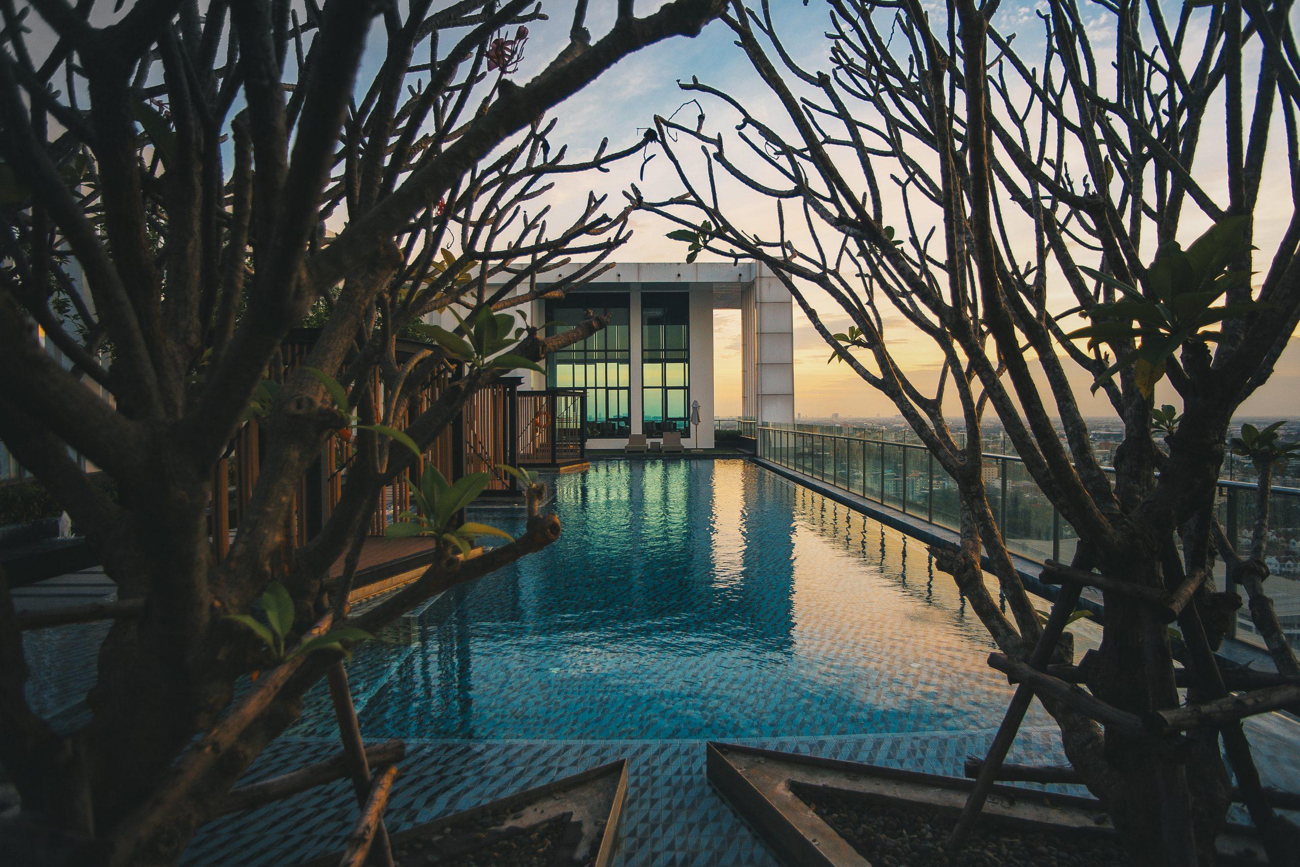 Luxury Pool in Hotel