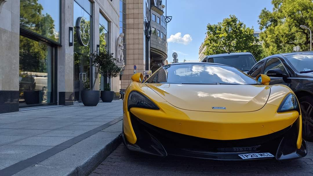 McLaren in the Street