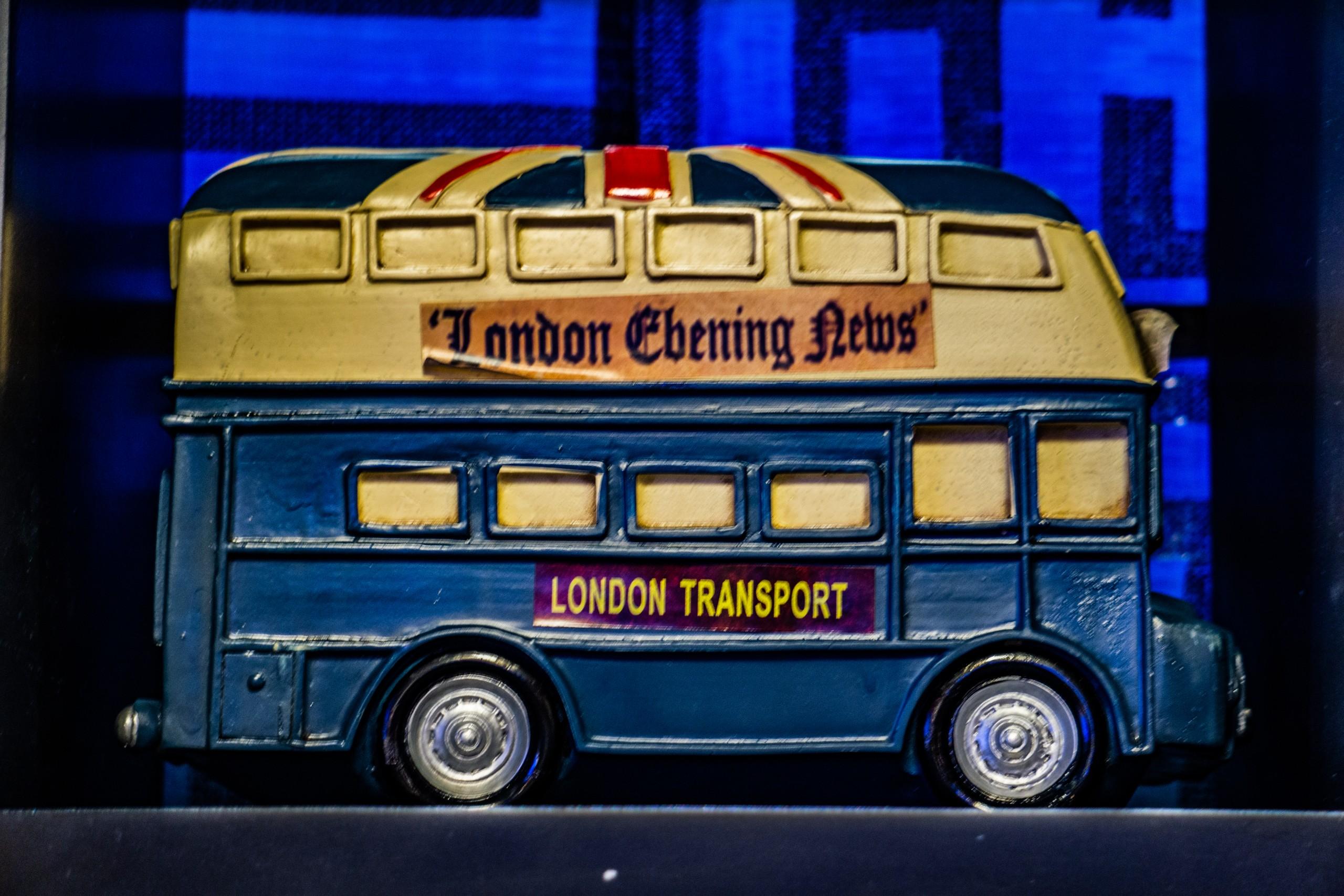 Mini Toy Bus