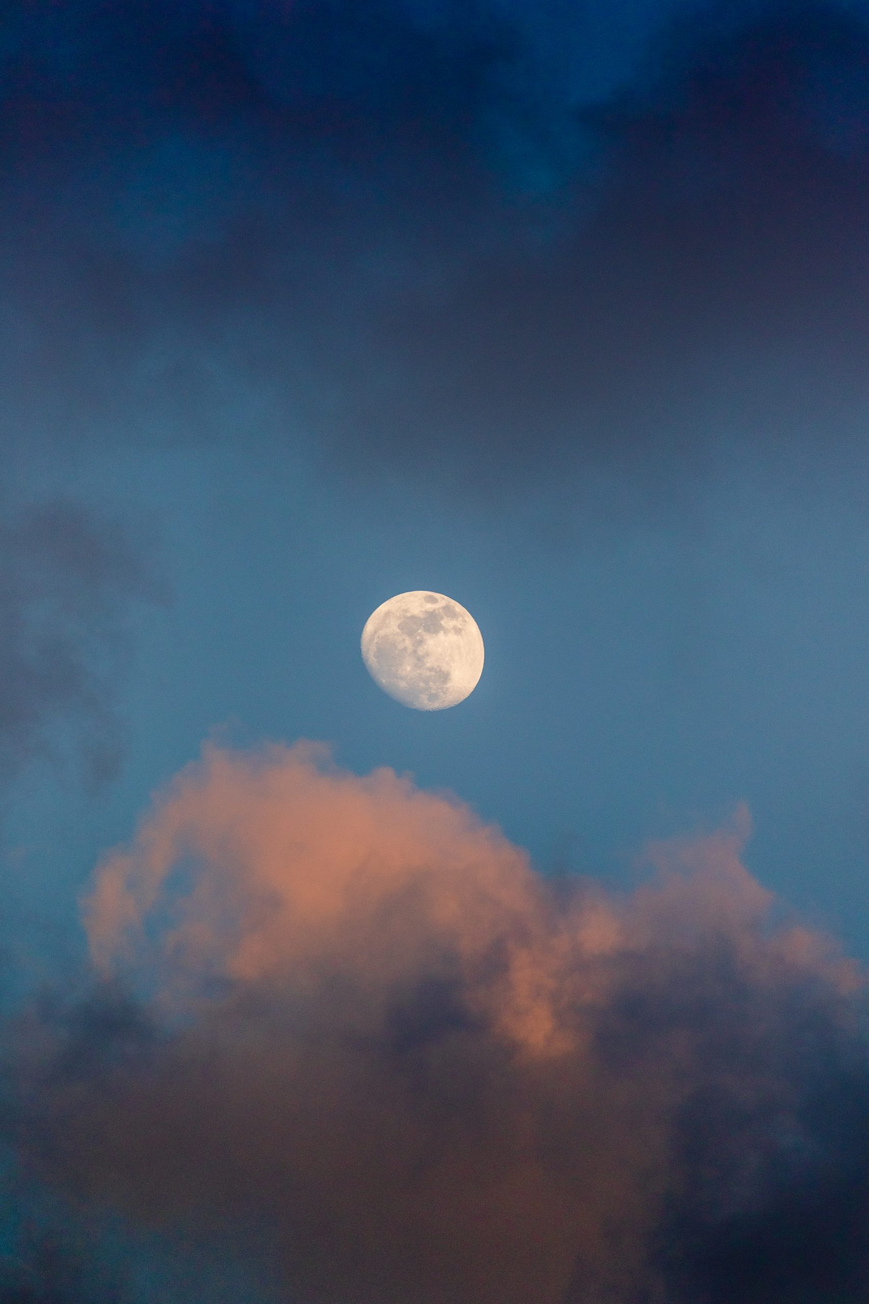 Moon at the Sky