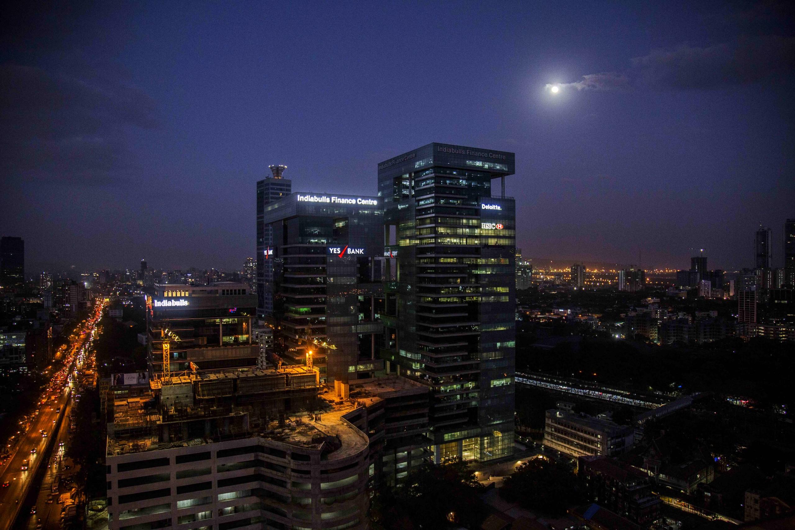 Mumbai nightview