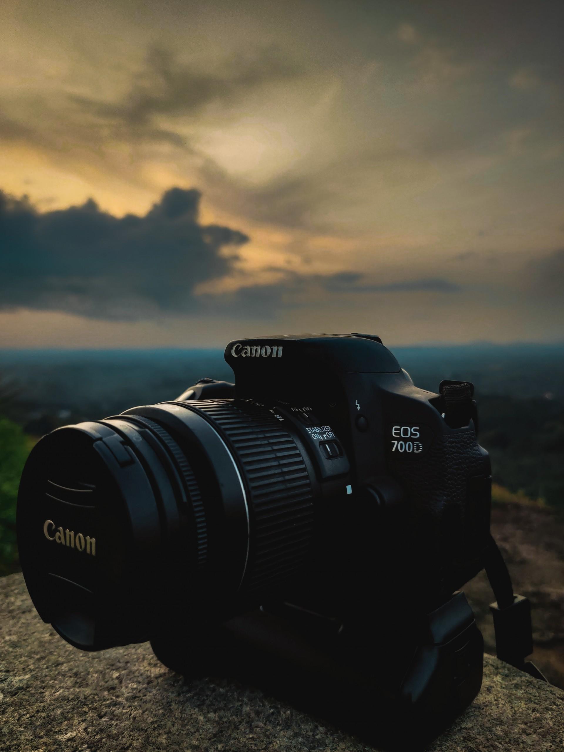 Canon DSLR Photography Camera