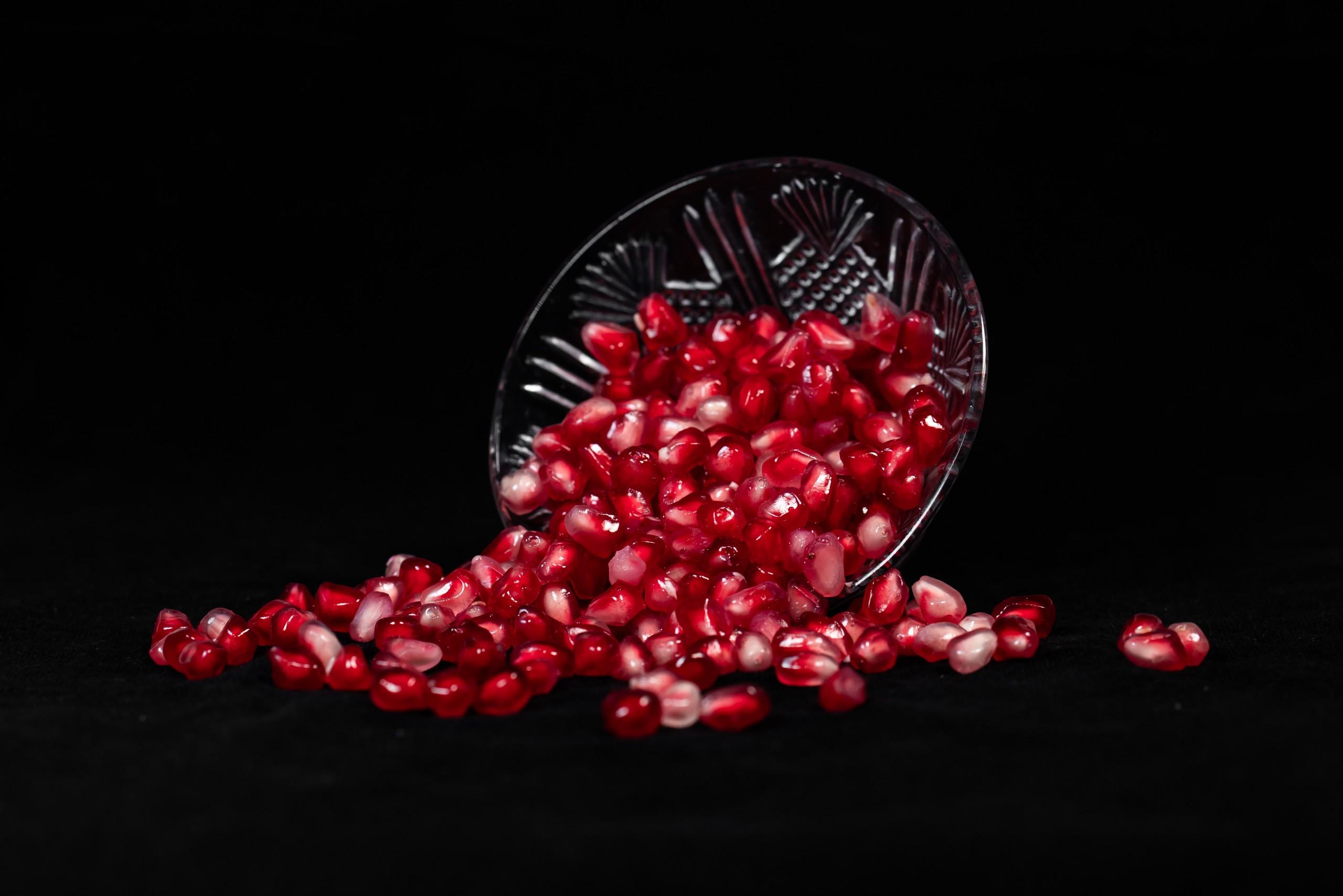 Pomegranate in Bowl