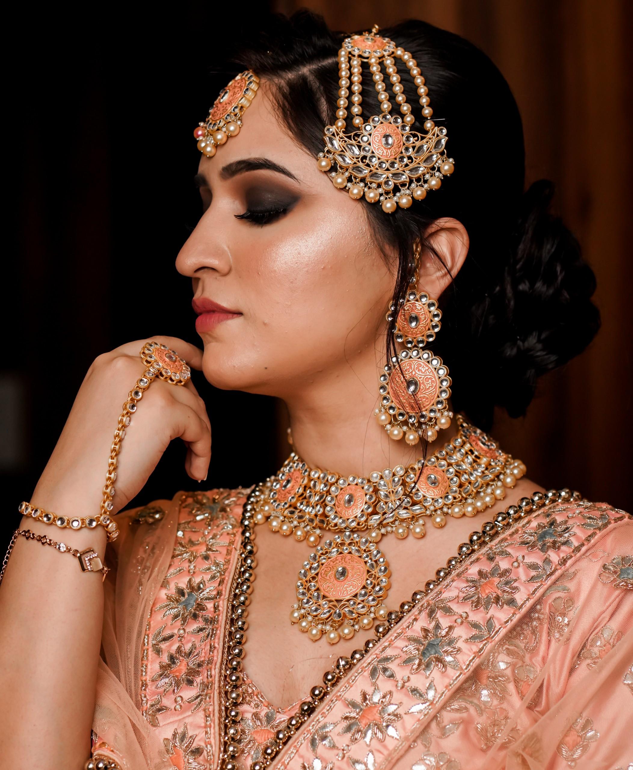 Portrait of Indian Bride